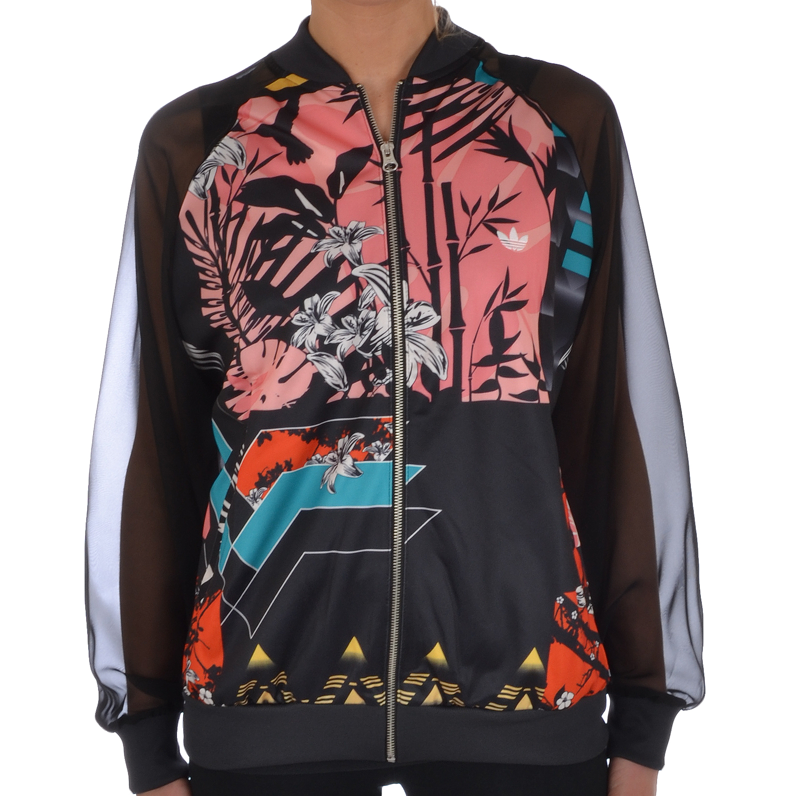 adidas damen originals windbreaker jacke