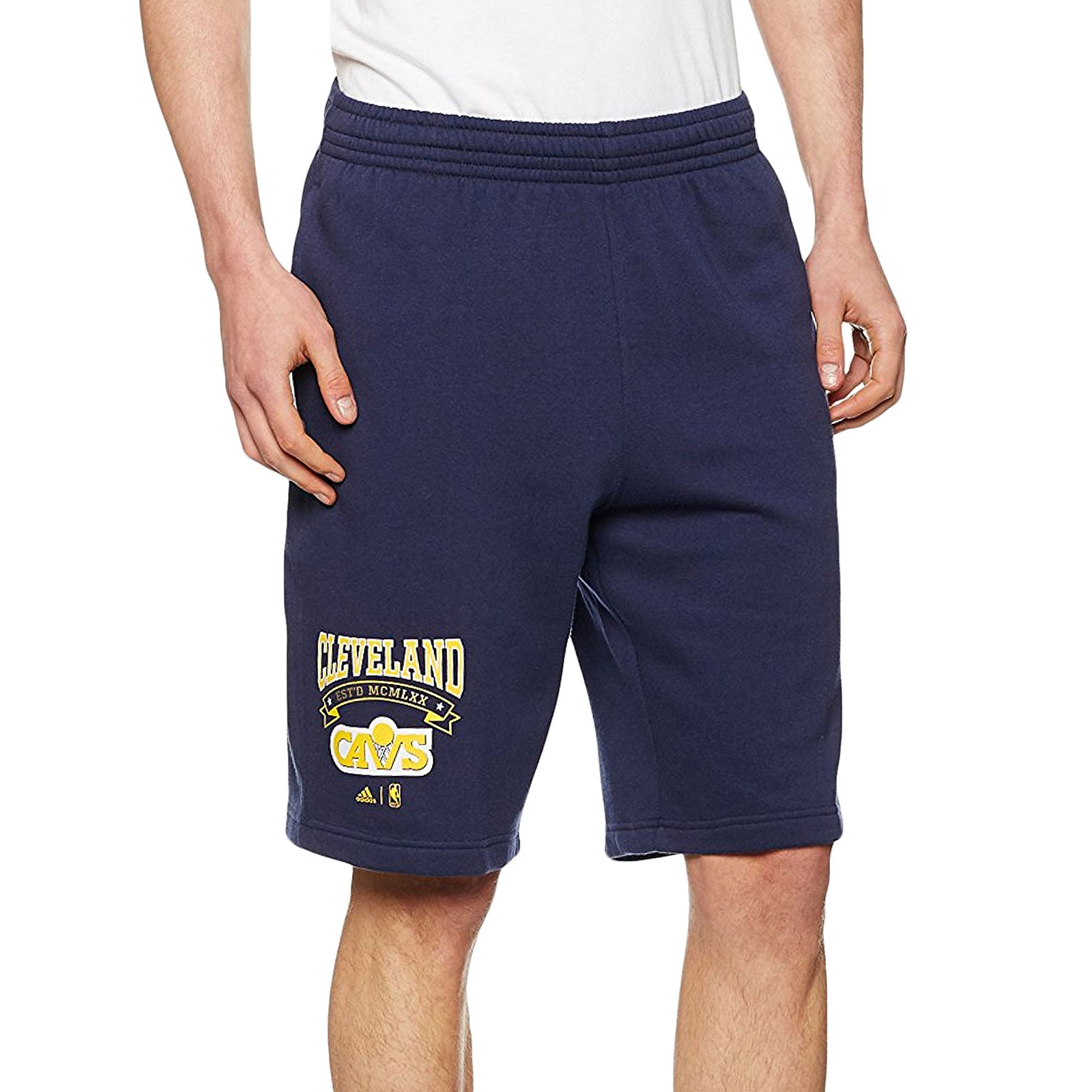 Details about adidas Performance Mens Cleveland Cavaliers Washed NBA Basketball Shorts Navy