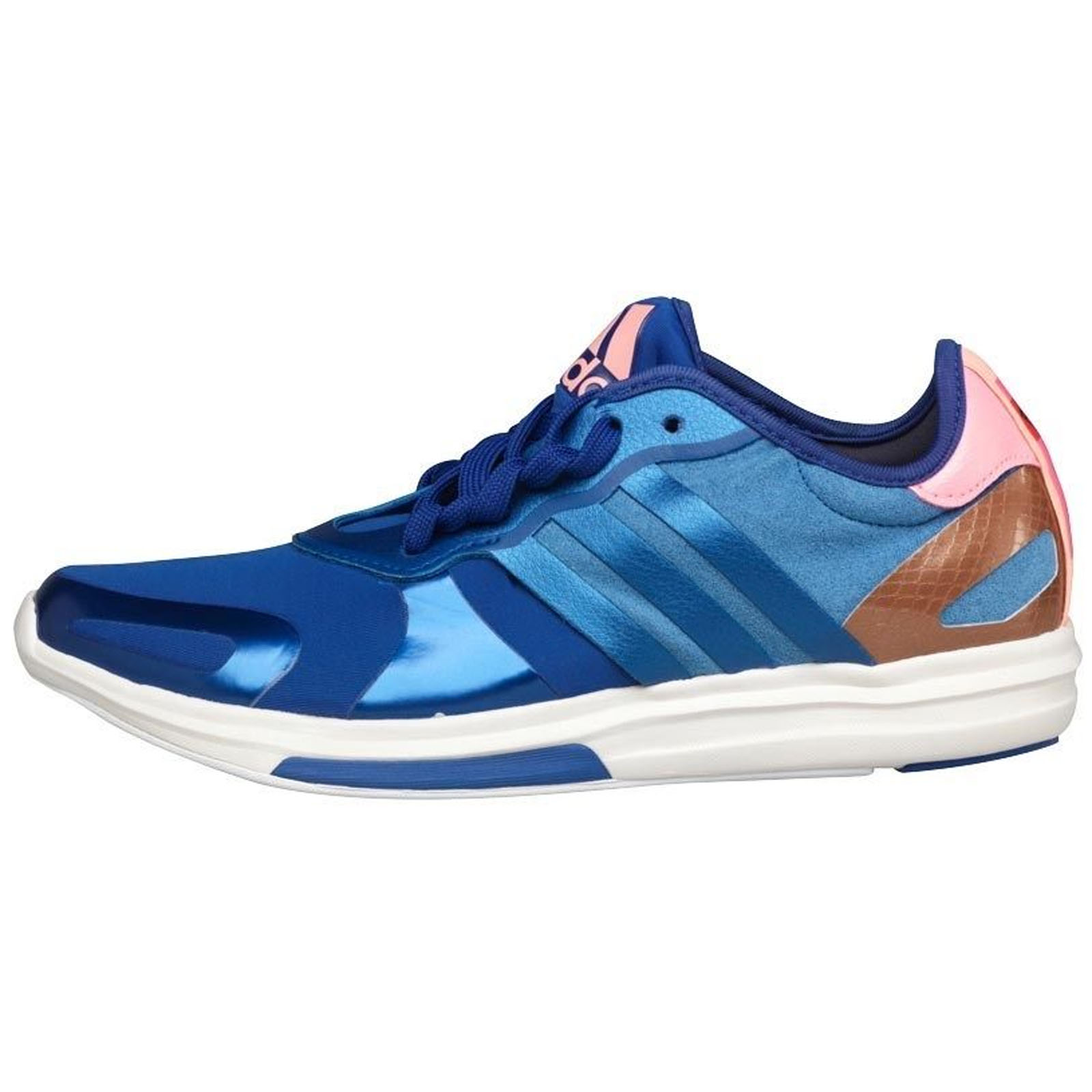 Adidas stellarsport yvori AZUL Pink Gold  mujer Cross training zapatos