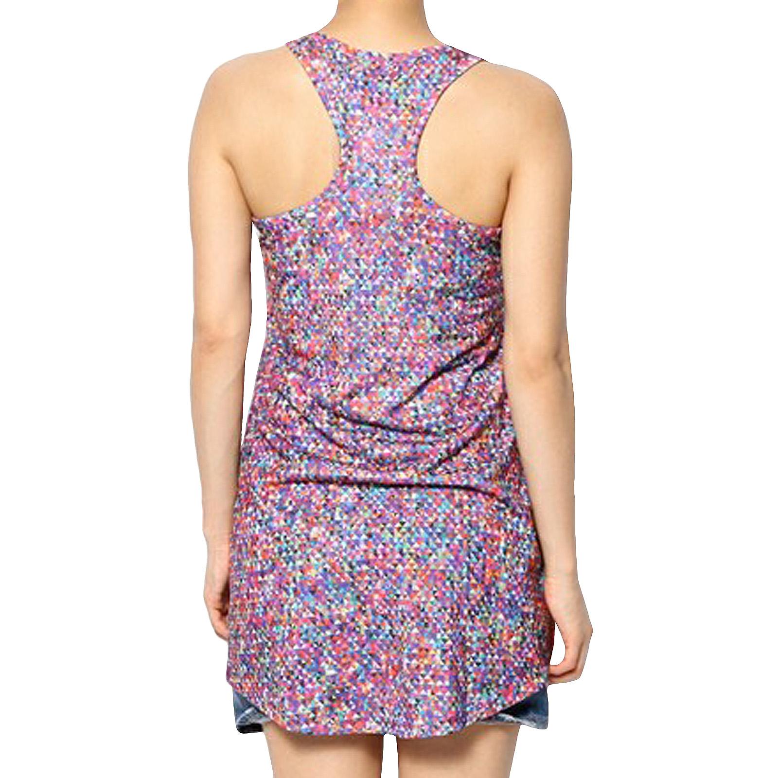 6561b921c475 adidas Originals Womens ZX Flux New Media Long Tank Vest Dress Top ...