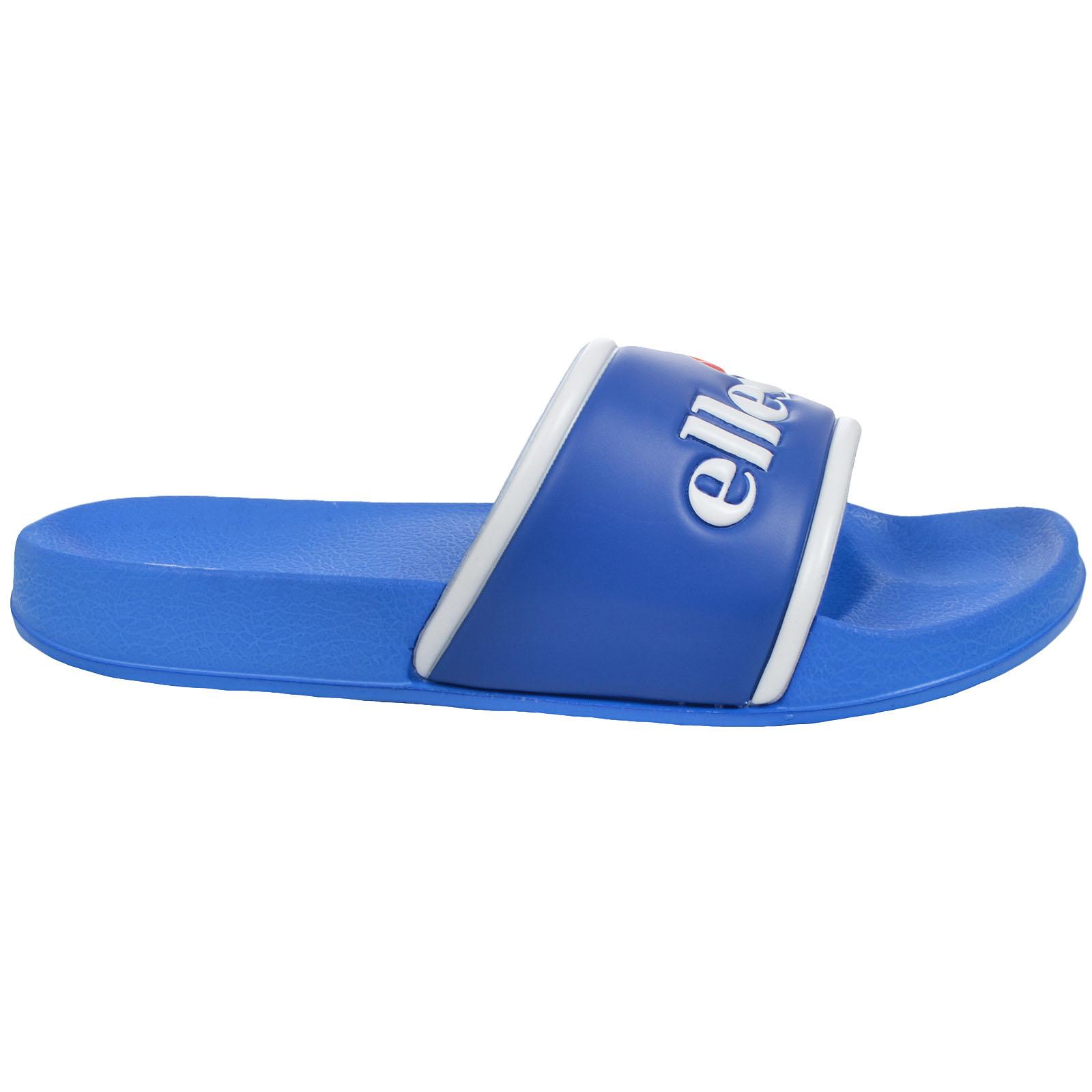 Ellesse-Mens-Julian-Slides-Flip-Flops-Pool-Summer-Slip-On-Sliders-Sandals