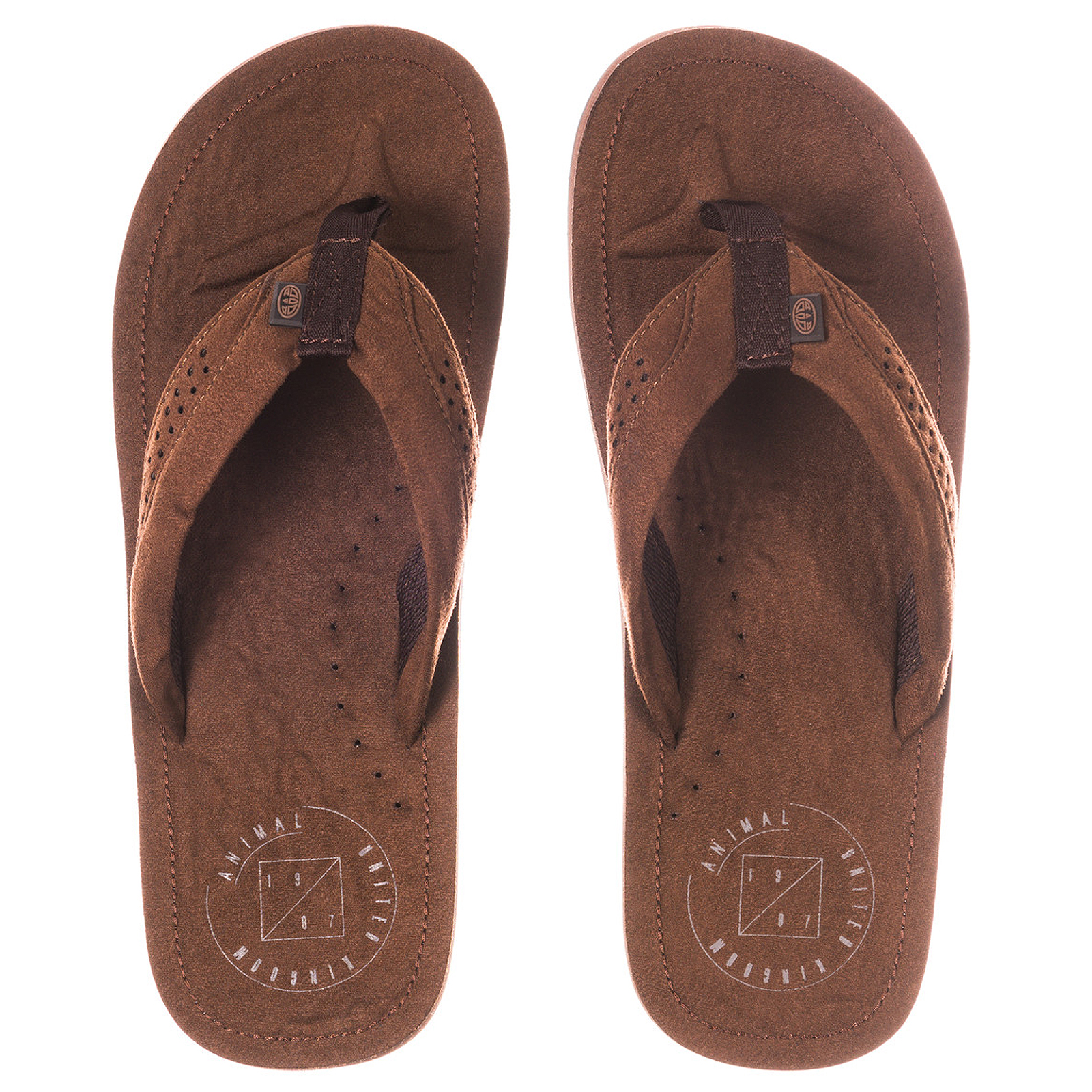 Animal Mens Hyde Summer Beach Holiday Slip On Thongs Sandals Flip Flops