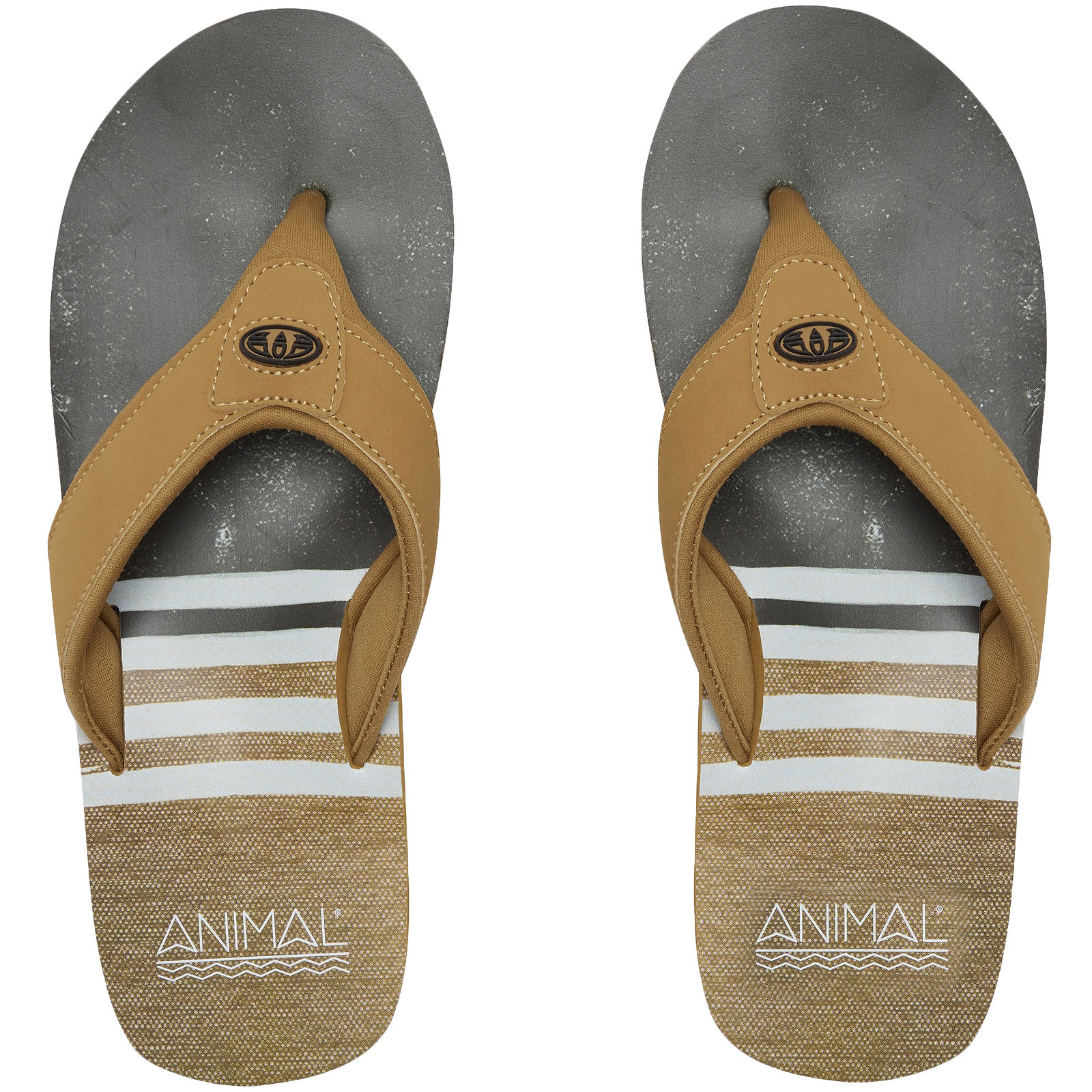 ba67161763db69 ... Mens Flip Flops Patina Brown Fm8sn004 UK Size 8. About this product.  Picture 1 of 3  Picture 2 of 3 ...