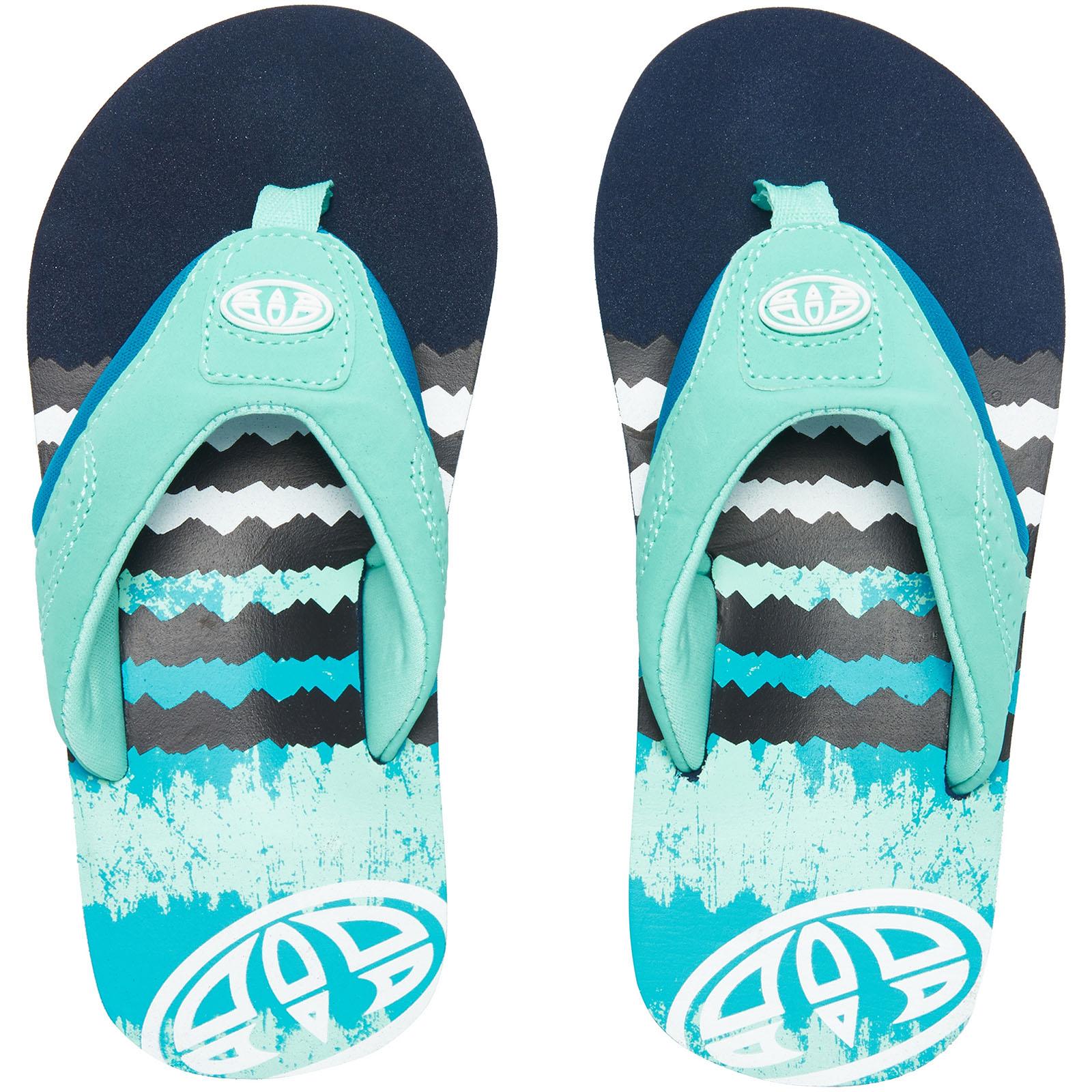Animal Jekyl Logo Boys Footwear Sandals - Marine Green All Sizes