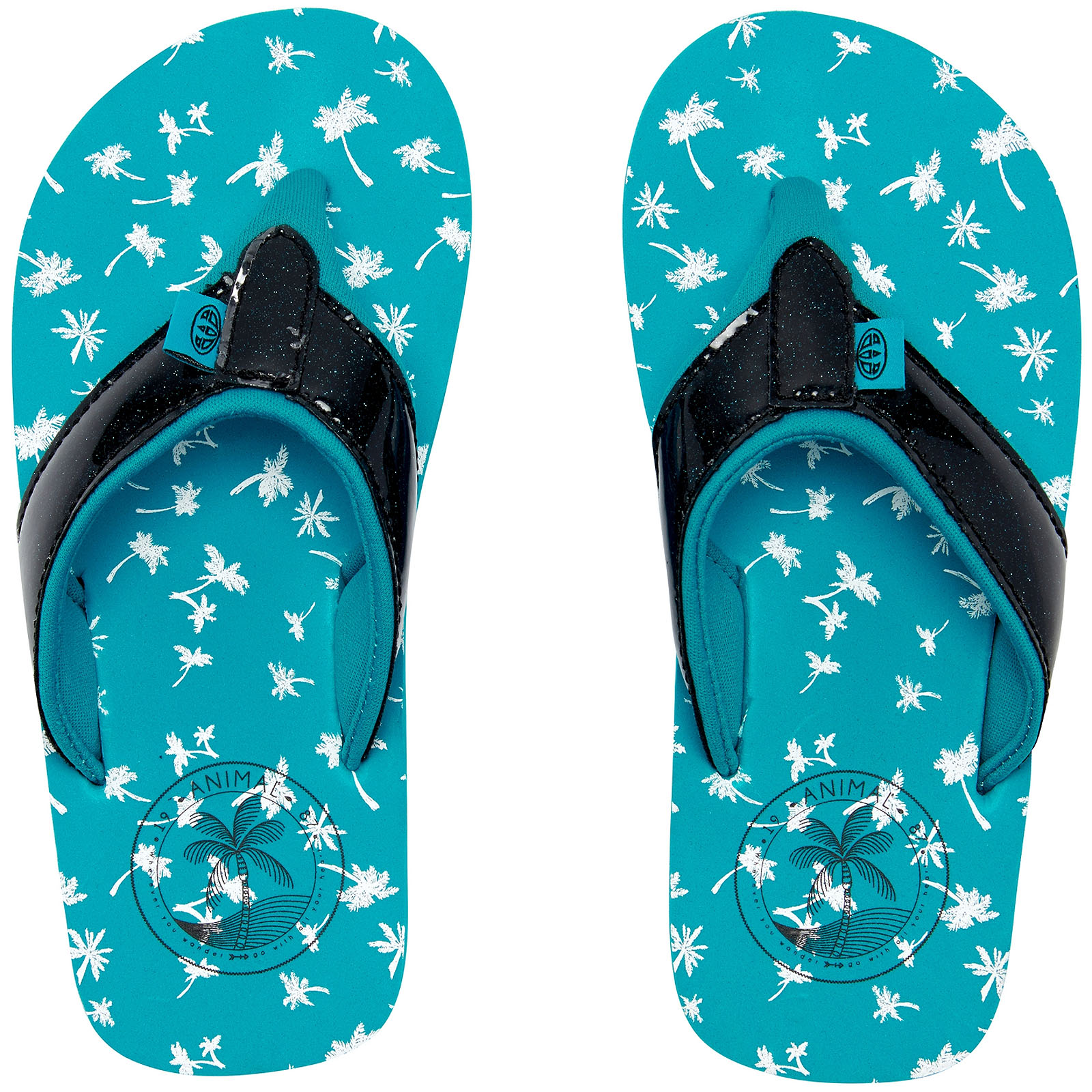 7b7f1df0a31b41 Animal Bluebird Blue Swish - Glitz Girls Flip Flop Girls UK 1. About this  product. Picture 1 of 3  Picture 2 of 3 ...