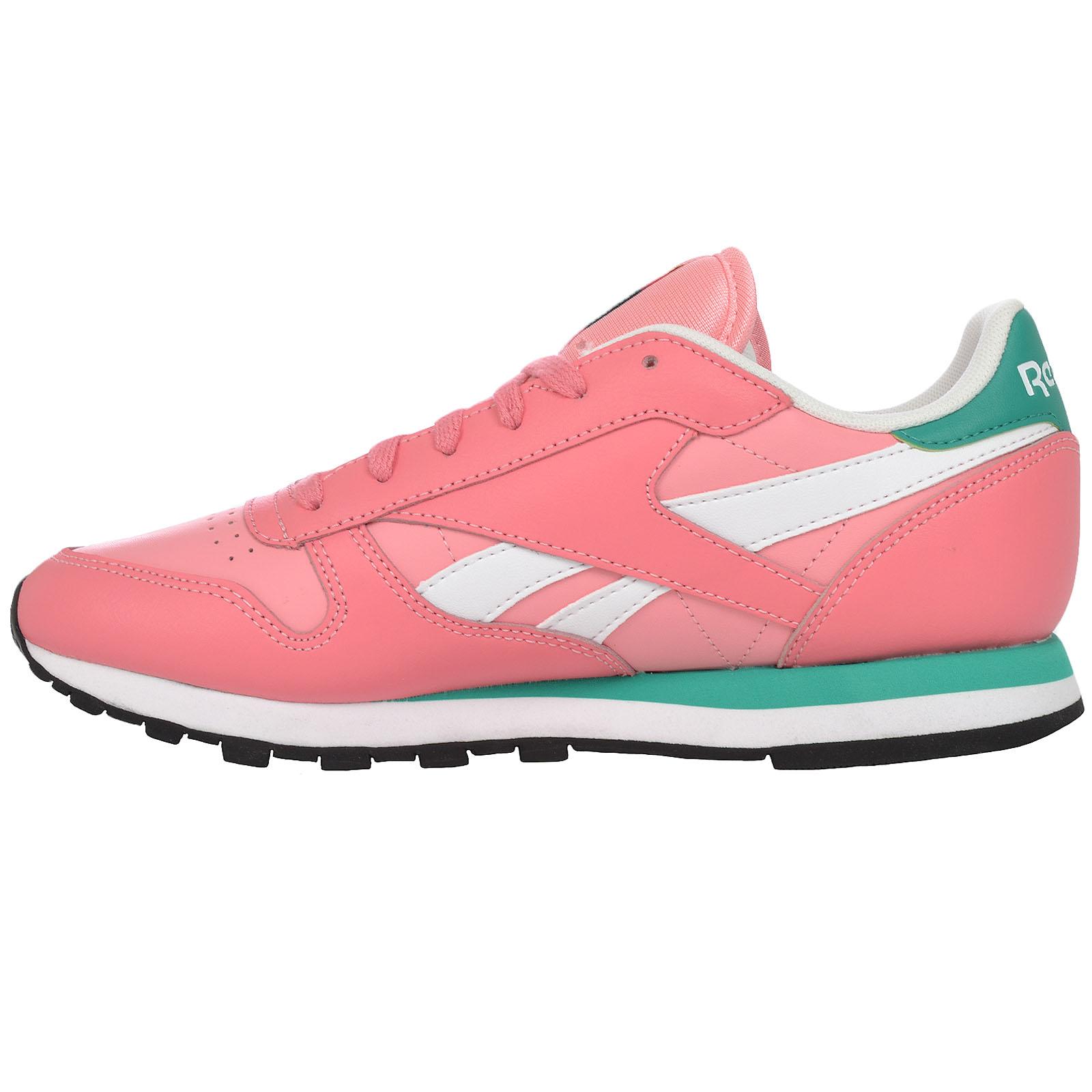 cheap for discount dde20 a7ef9 ... Reebok Classic Mujer Cuero temporada 2 Moda Informal Correr Zapatillas  Zapatos ...