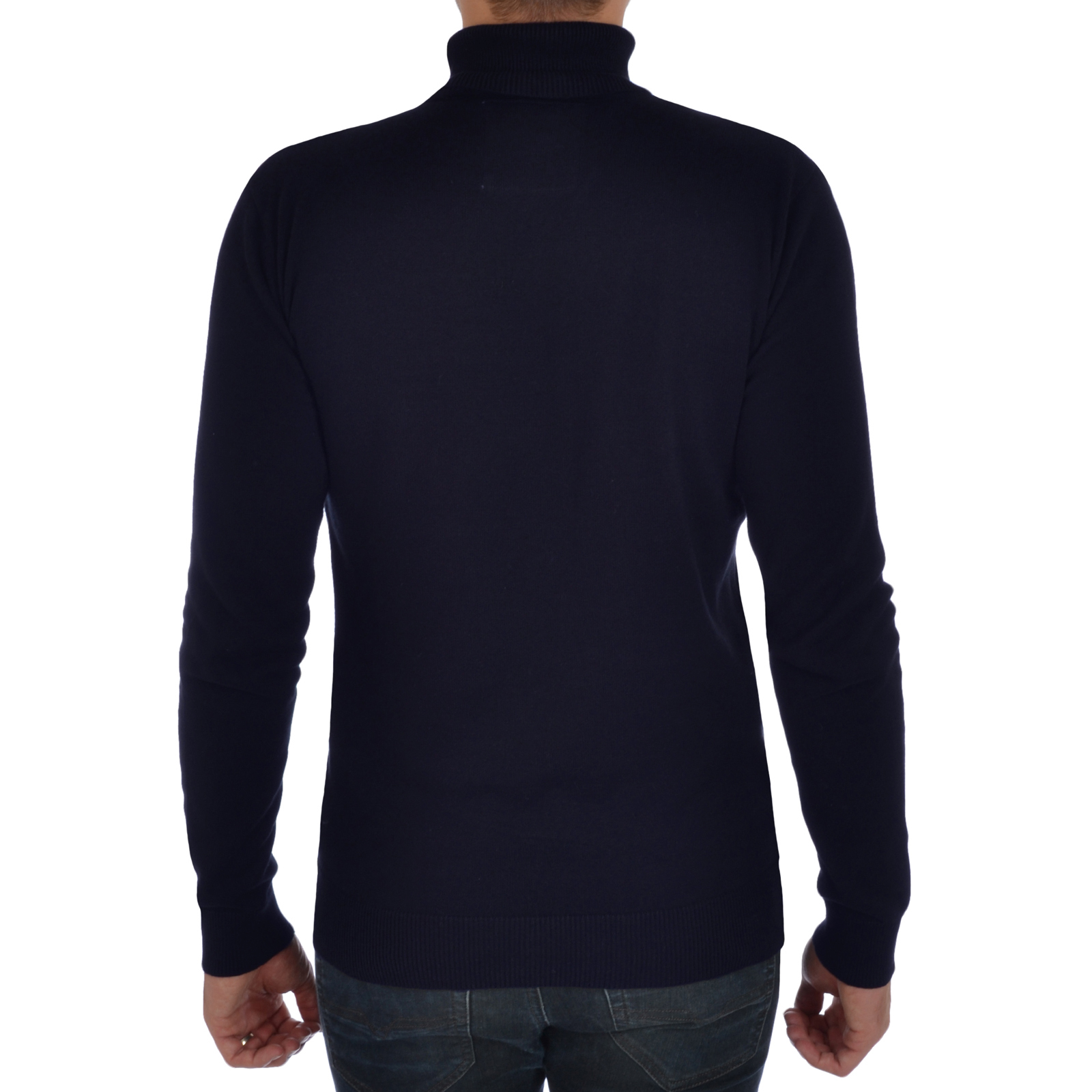 Roll Top Brave Soul Jumper Mens Knit Polo Turtle Pullover Neck Sweater AAUW6gwvq