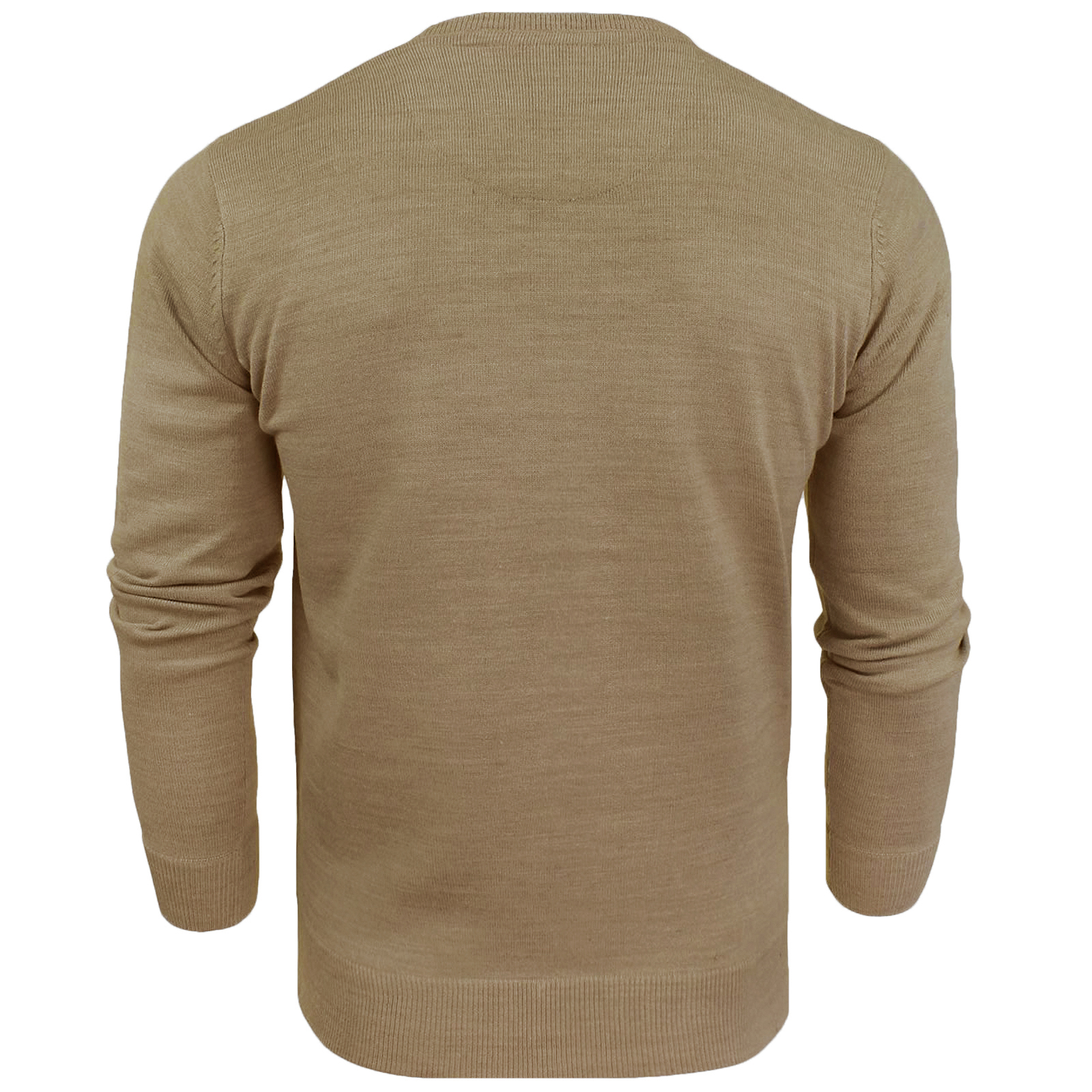 Brave-Soul-Mens-Parse-Knitted-Long-Sleeve-Crew-Neck-Jumper-Sweater-Pullover-Top thumbnail 3