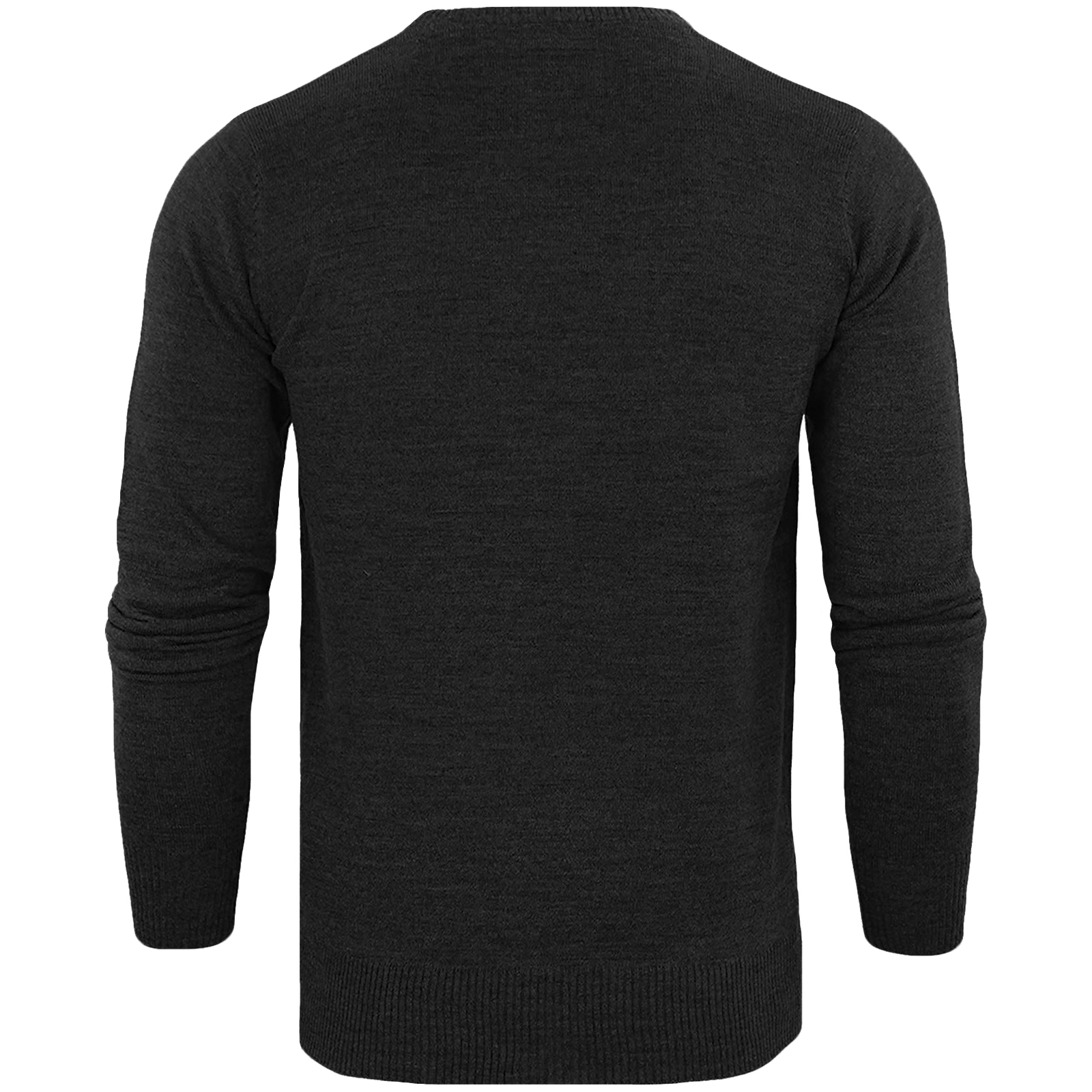 Brave-Soul-Mens-Parse-Knitted-Long-Sleeve-Crew-Neck-Jumper-Sweater-Pullover-Top thumbnail 9