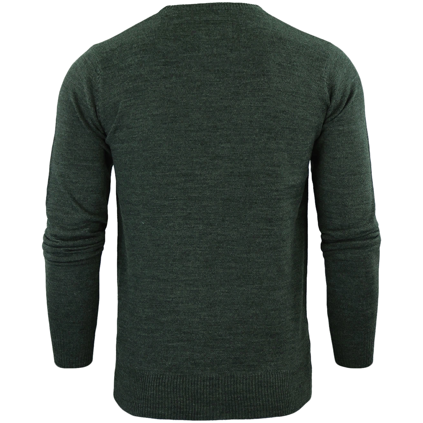 Brave-Soul-Mens-Parse-Knitted-Long-Sleeve-Crew-Neck-Jumper-Sweater-Pullover-Top thumbnail 17
