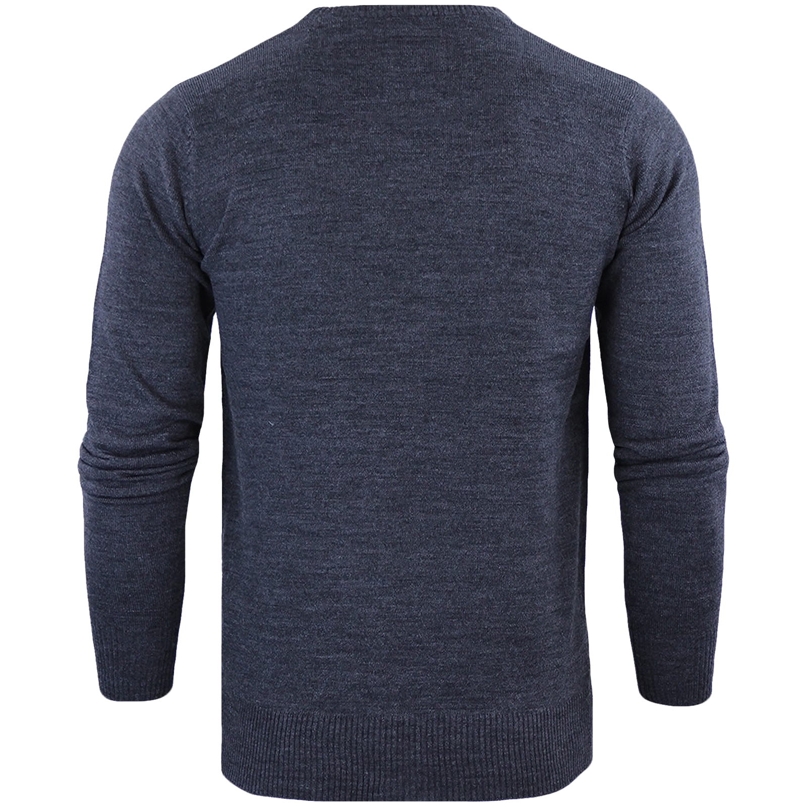 Brave-Soul-Mens-Parse-Knitted-Long-Sleeve-Crew-Neck-Jumper-Sweater-Pullover-Top thumbnail 7
