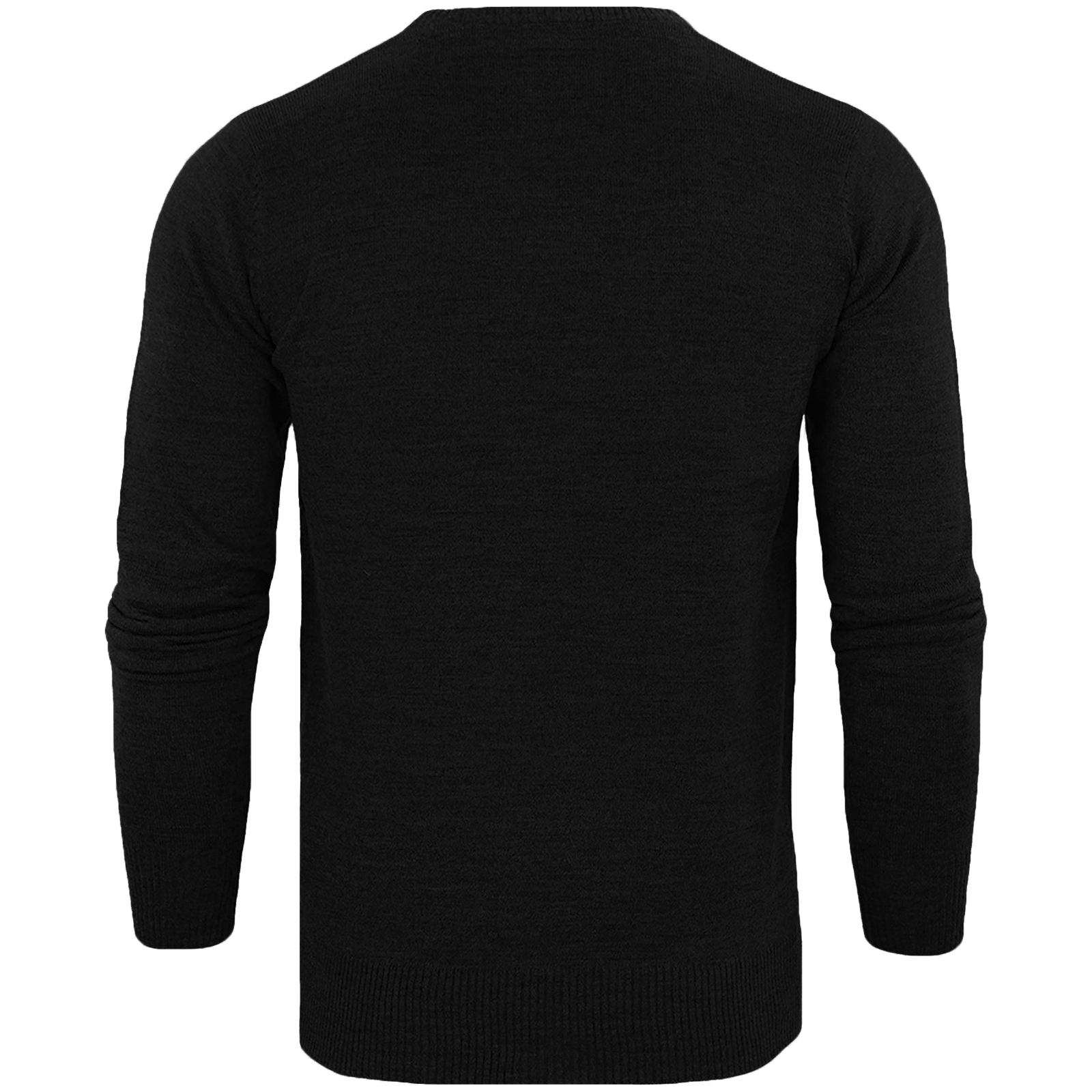 Brave-Soul-Mens-Parse-Knitted-Long-Sleeve-Crew-Neck-Jumper-Sweater-Pullover-Top thumbnail 5