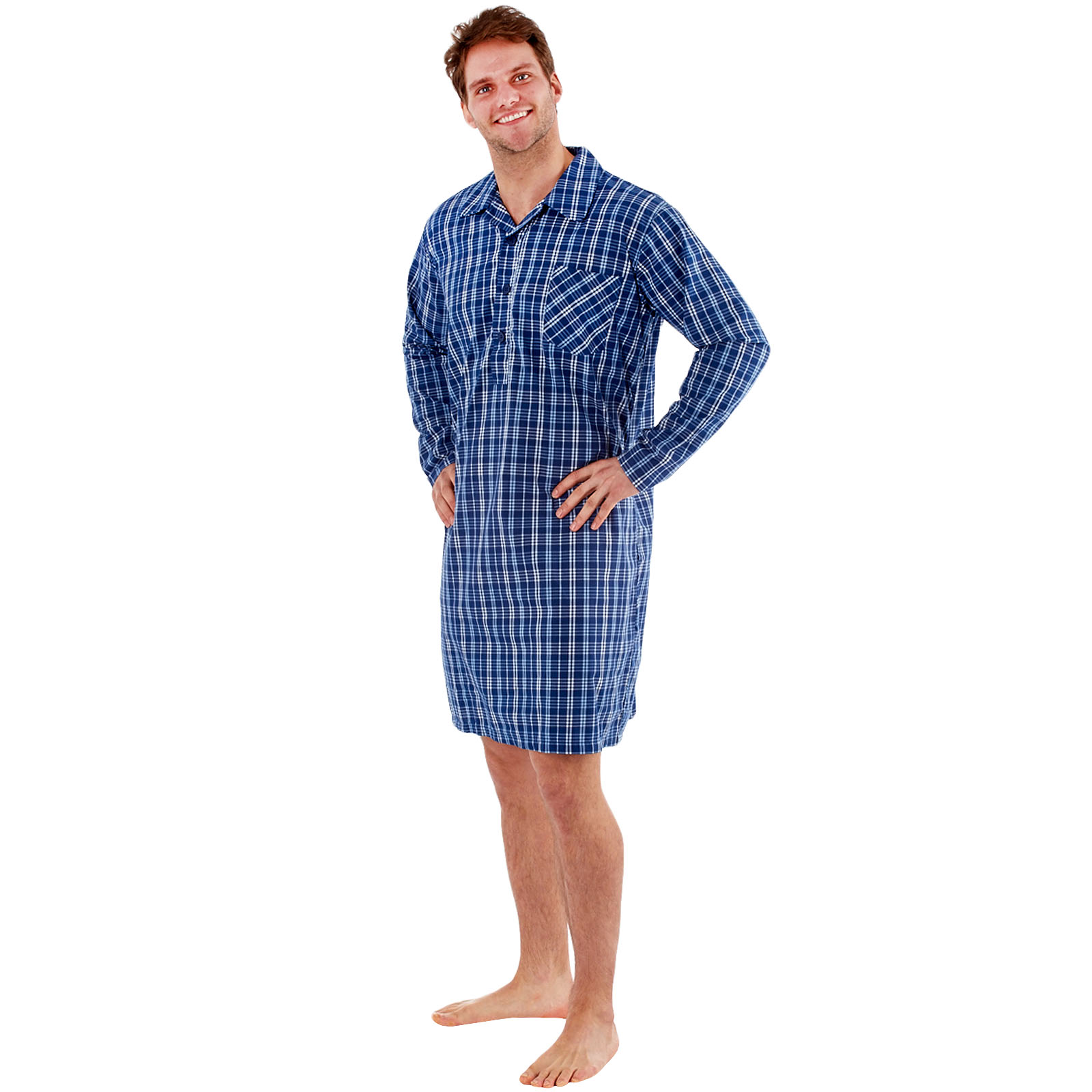 e075c7fafa Mens Summer Weight Nightshirts - Joe Maloy