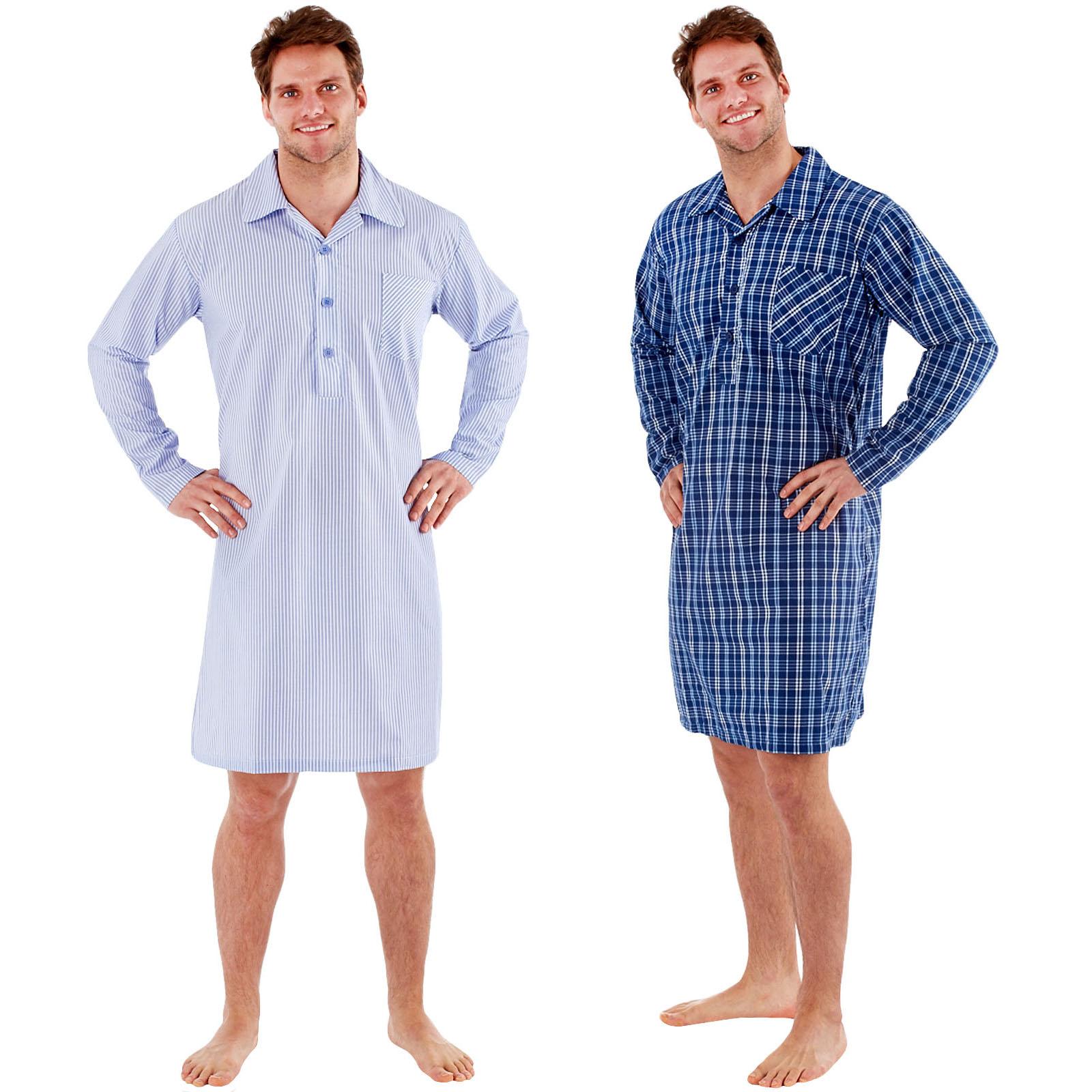 e075c7fafa Mens Summer Weight Nightshirts - Joe Maloy
