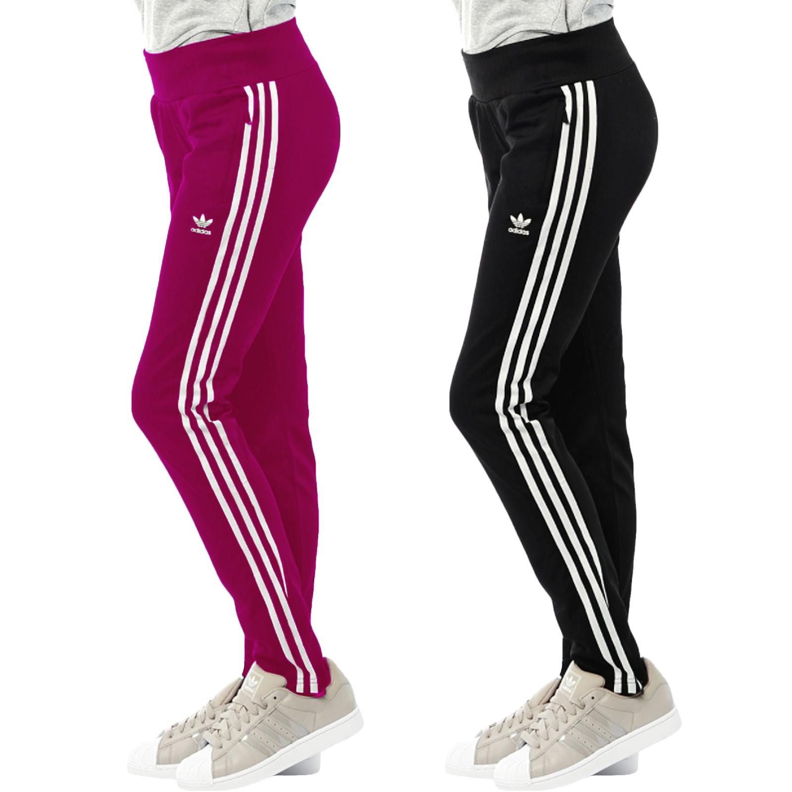 adidas original damen europa sportanzug jogginghose b den b ware ebay. Black Bedroom Furniture Sets. Home Design Ideas