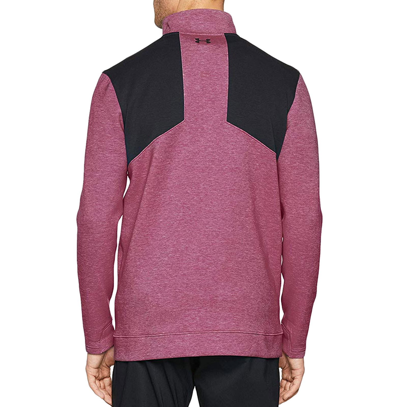 Under-Armour-Mens-Storm-Playoff-1-2-Zip-Golf-Pullover-Sweater-Sweatshirt-Top thumbnail 3