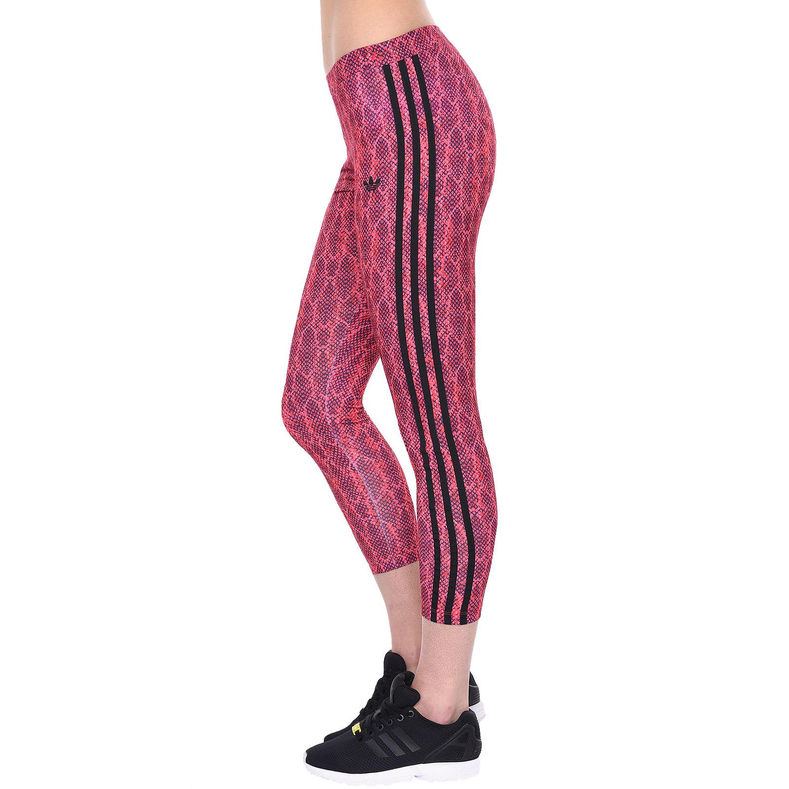 51f28d5bcaaae adidas Originals Womens Soccer Print Leggings Gym Tight Pants | eBay