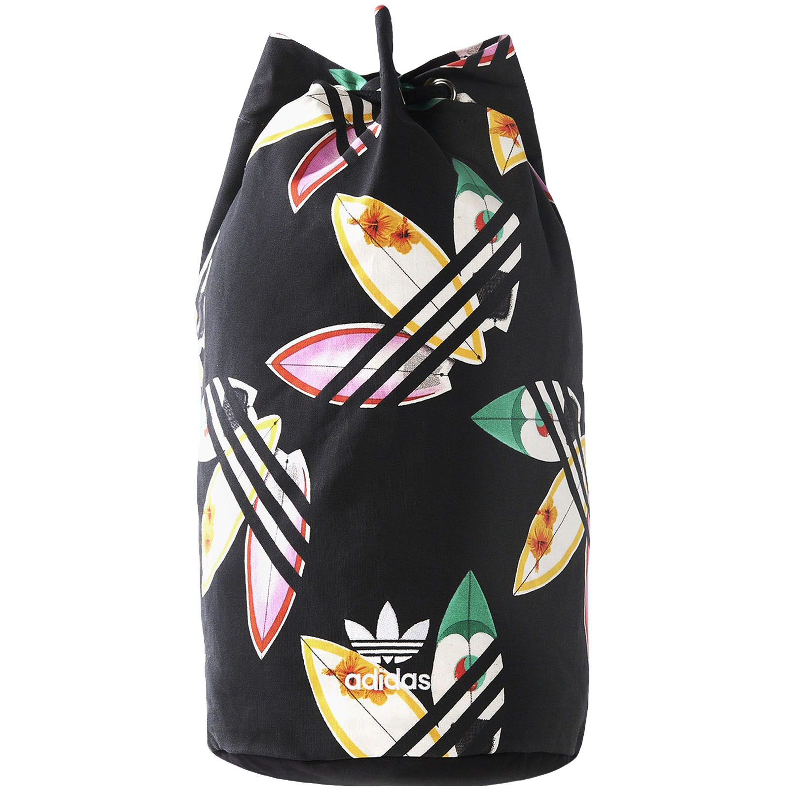 81fc00f79273 Details about adidas Originals Unisex Pharrell Williams Sports Surf Seasack  Backpack - Black