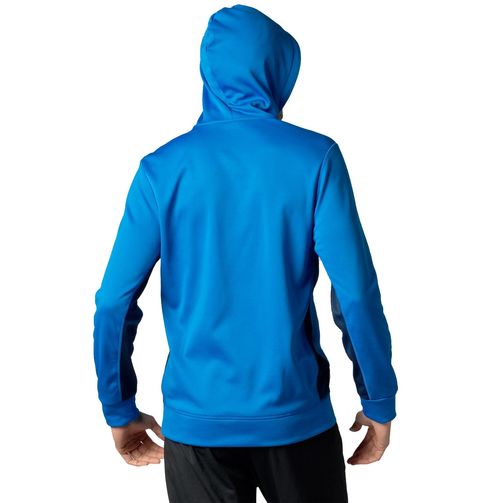 Reebok Mens Logo Hoodie Gym Training Hoody Hooded Sweater Top ...