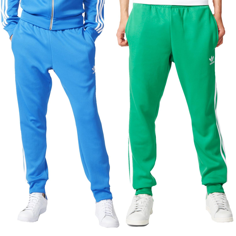 4fb4b017d9df adidas Originals Mens 3 Stripe Superstar Cuffed Track Pant Tracksuit ...