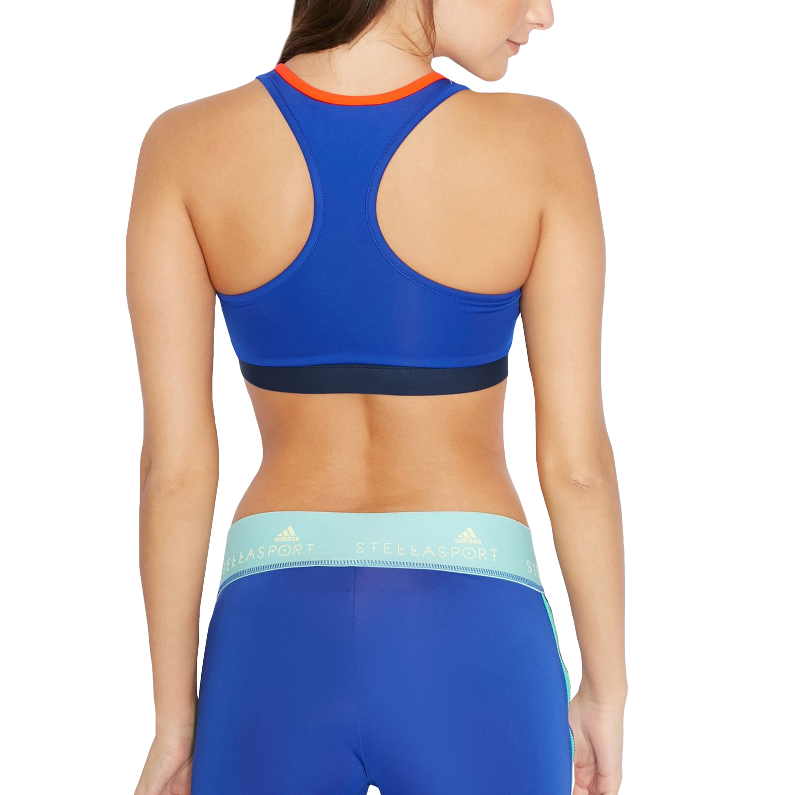 f559ad3cbbd89c Details about adidas Performance Womens STELLASPORT Climalite Gym Crop Top  Padded Sports Bra