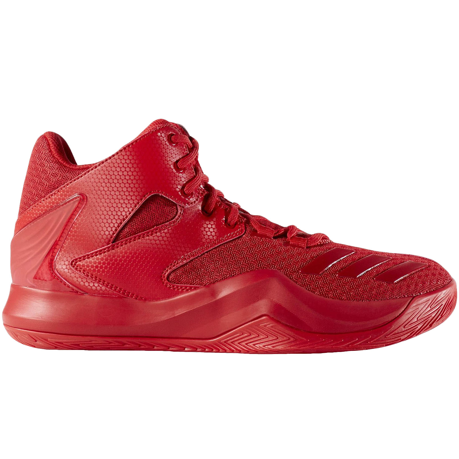 a55e8533fbdb Details about adidas Performance Mens Derrick Rose 773 V Basketball  Trainers Shoes - Scarlet