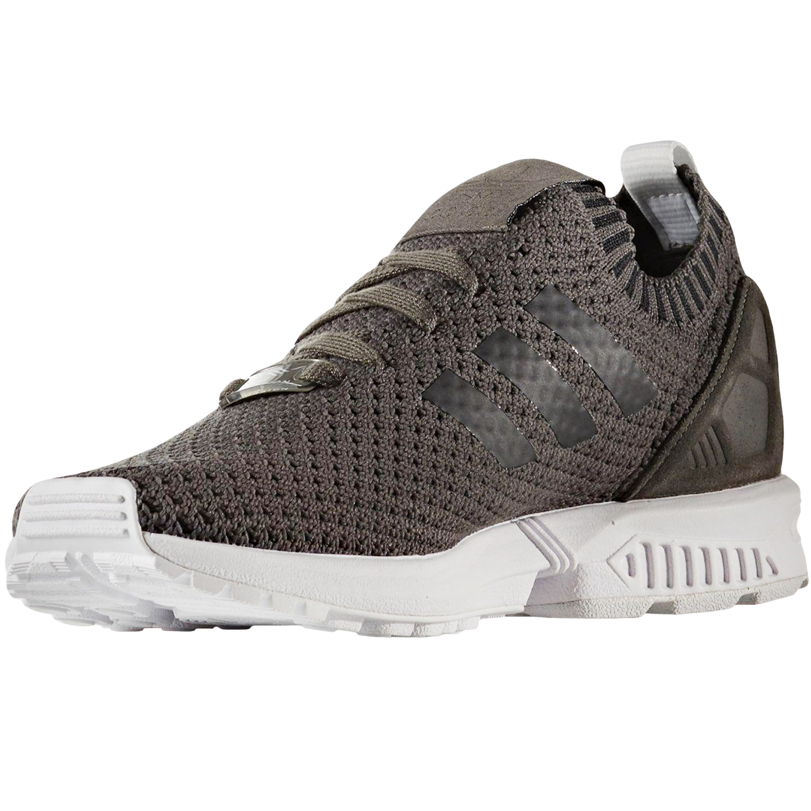 c3d23ffd17312c adidas Originals Womens ZX Flux Primeknit Running Lace Up Trainers ...