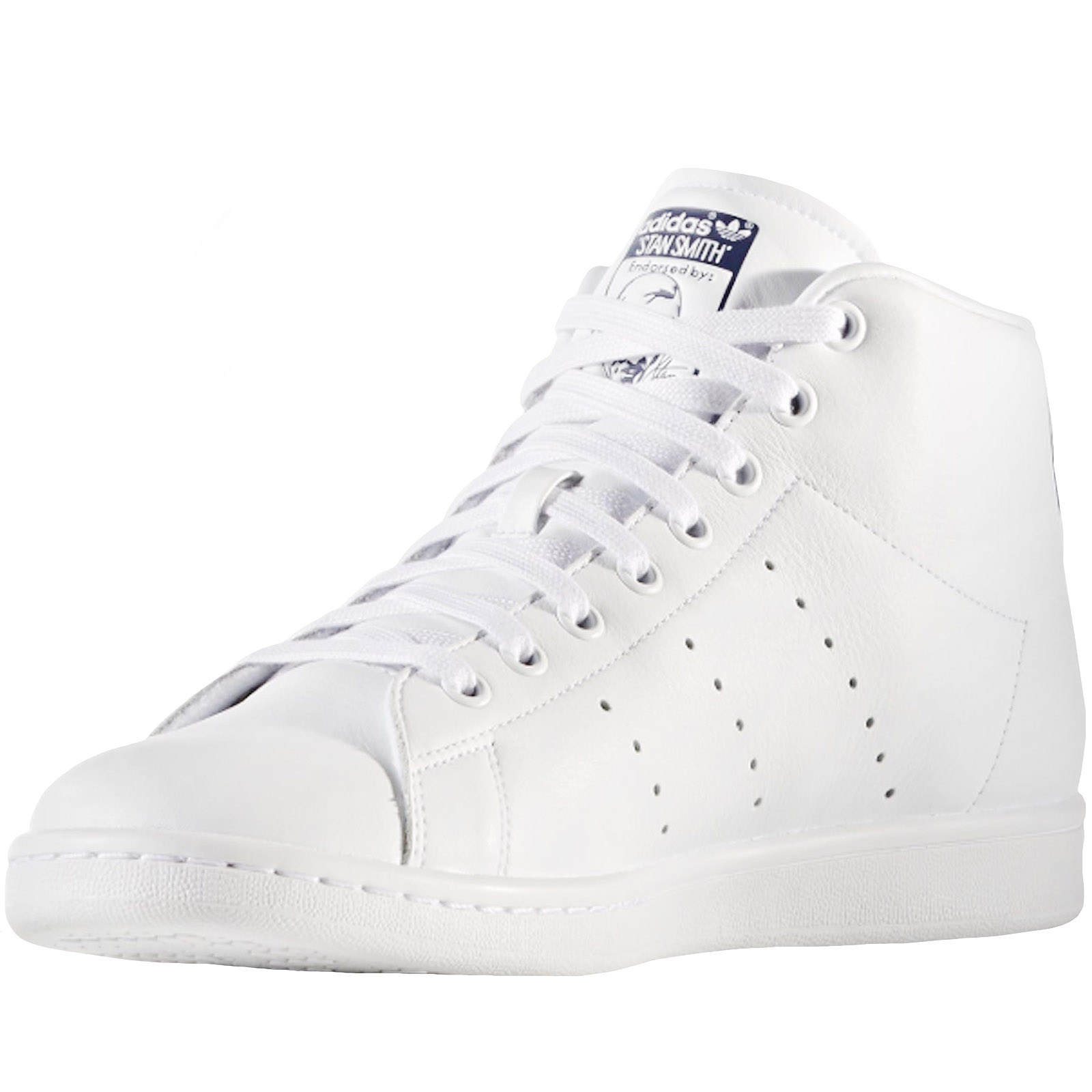 adidas-Originals-Mens-Stan-Smith-Mid-Rise-Casual-Lace-Up-Trainers-Sneakers-Shoes thumbnail 7