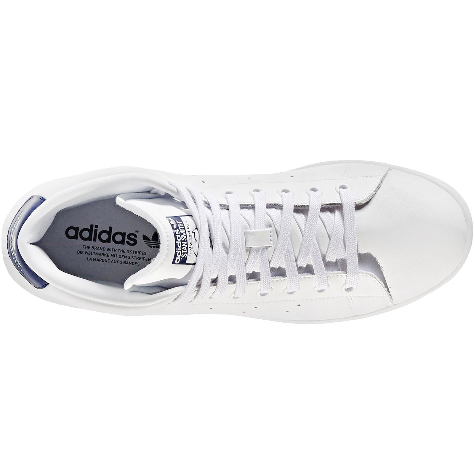 adidas-Originals-Mens-Stan-Smith-Mid-Rise-Casual-Lace-Up-Trainers-Sneakers-Shoes thumbnail 8