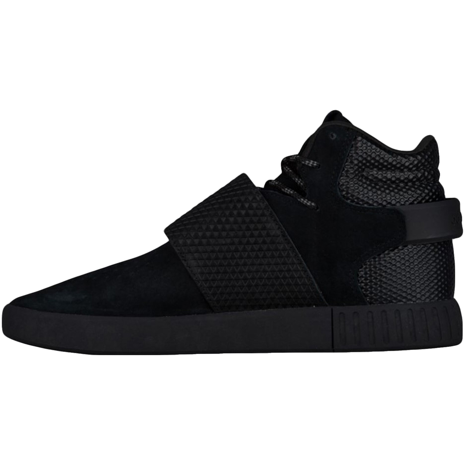 adidas-Originals-Mens-Tubular-Invader-Strap-Casual-Lace-Up-Hi-Top-Trainers-Shoes thumbnail 7