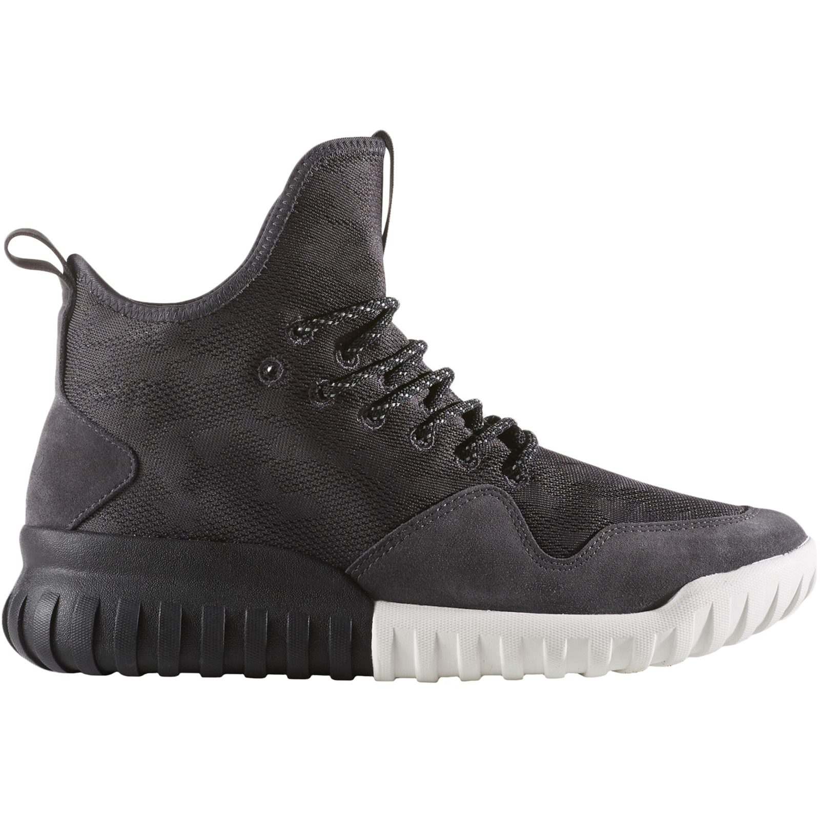 competitive price 8624e 256ec Details about adidas Originals Mens Tubular X UNCGD Casual Hi Top Lace Up  Trainers Shoes-Black