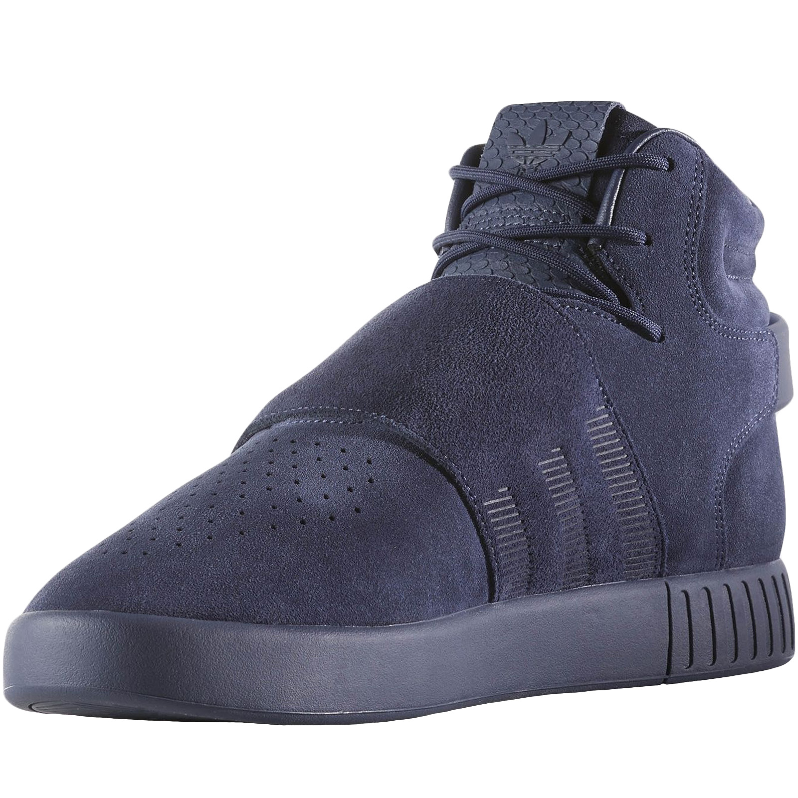 adidas-Originals-Mens-Tubular-Invader-Strap-Casual-Lace-Up-Hi-Top-Trainers-Shoes thumbnail 11