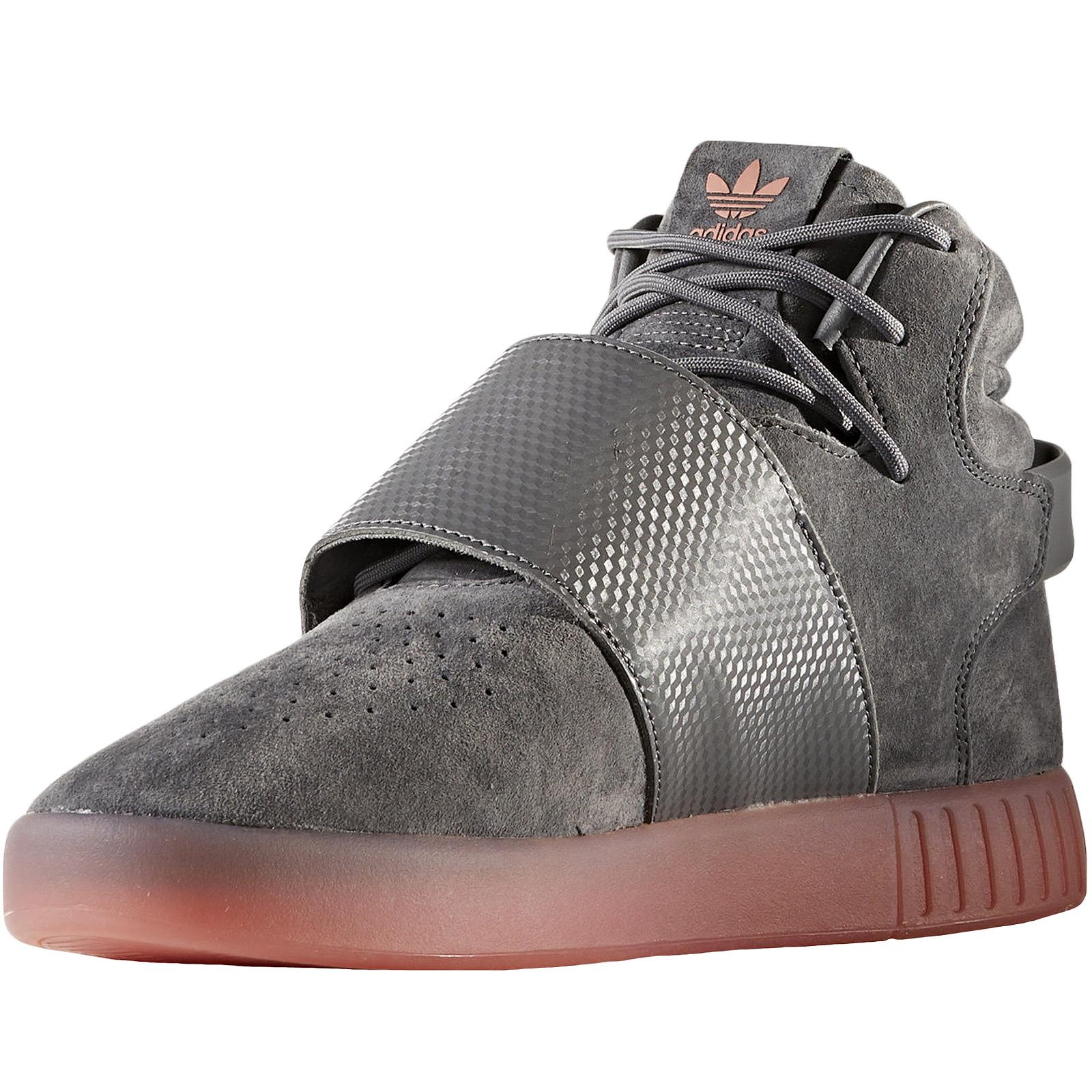 adidas-Originals-Mens-Tubular-Invader-Strap-Casual-Lace-Up-Hi-Top-Trainers-Shoes thumbnail 15