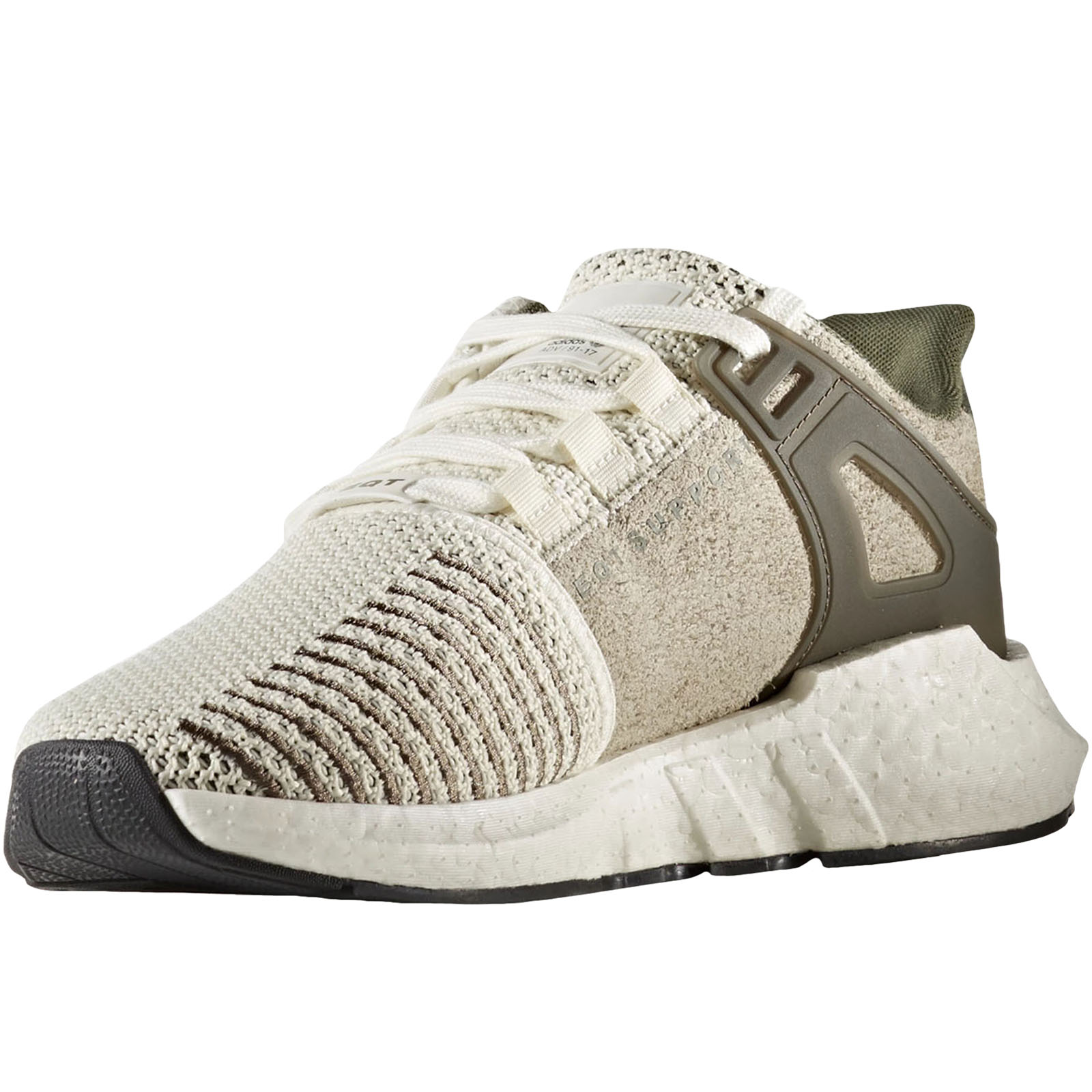 new product 6a7c5 ae285 adidas Originals EQT Support 93/17 Boost off White Bz9510 Size 10