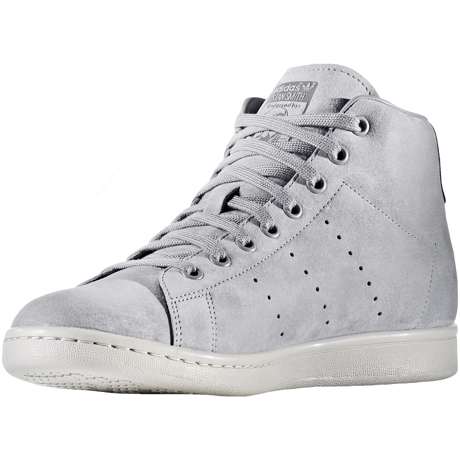 adidas-Originals-Mens-Stan-Smith-Mid-Rise-Casual-Lace-Up-Trainers-Sneakers-Shoes thumbnail 3