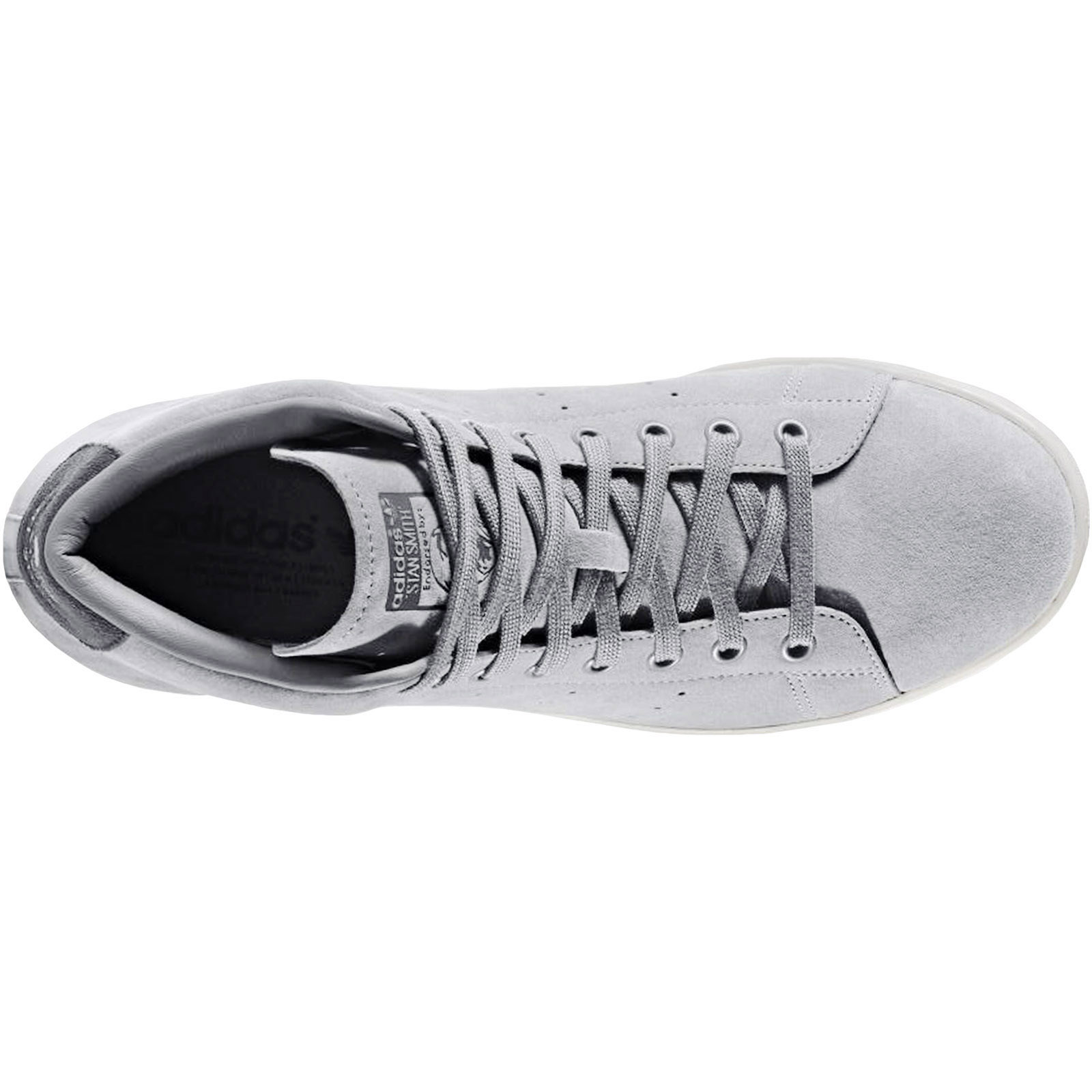 adidas-Originals-Mens-Stan-Smith-Mid-Rise-Casual-Lace-Up-Trainers-Sneakers-Shoes thumbnail 4