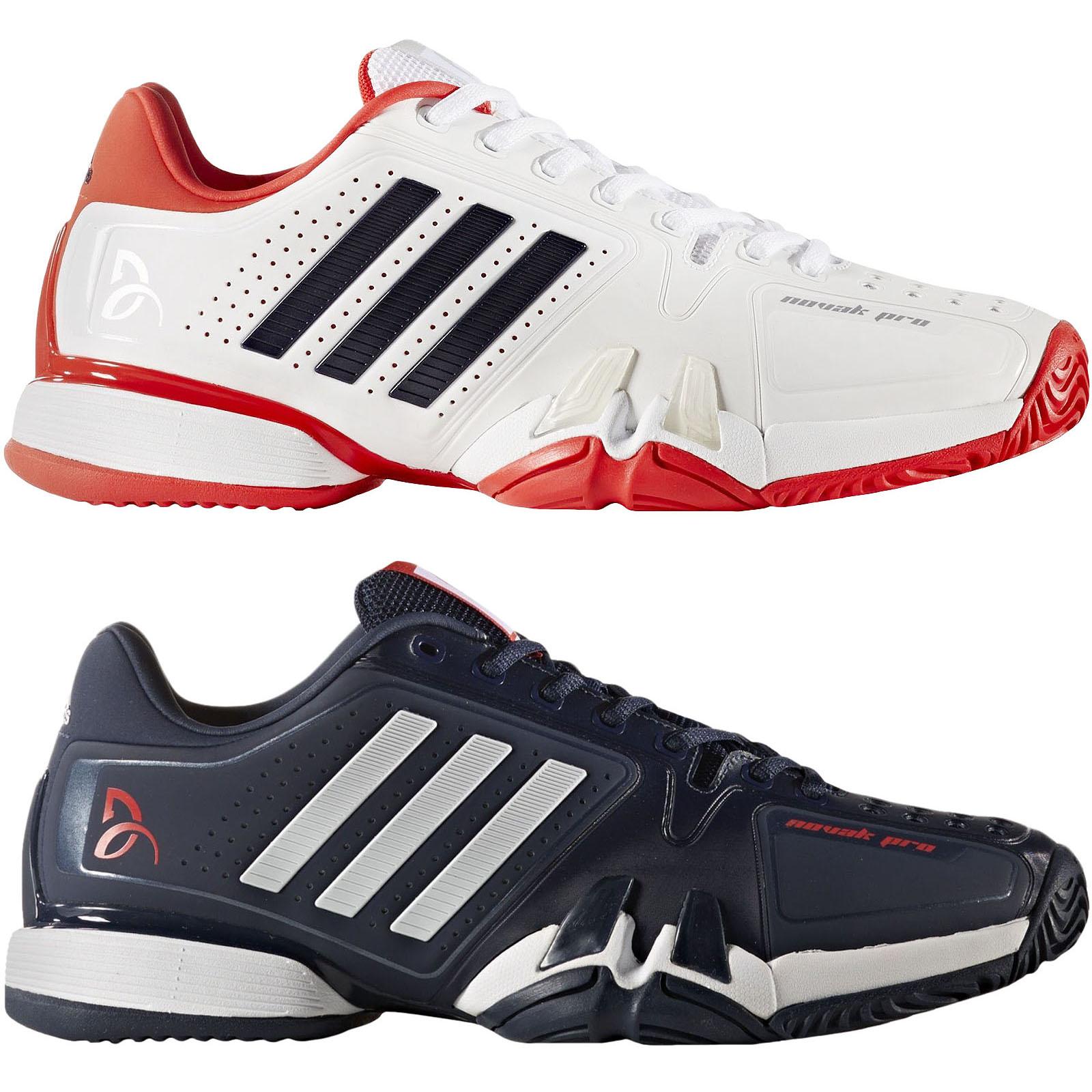 6df8d8906f3 Details about adidas Performance Mens Novak Pro Court Sports Tennis  Trainers Shoes