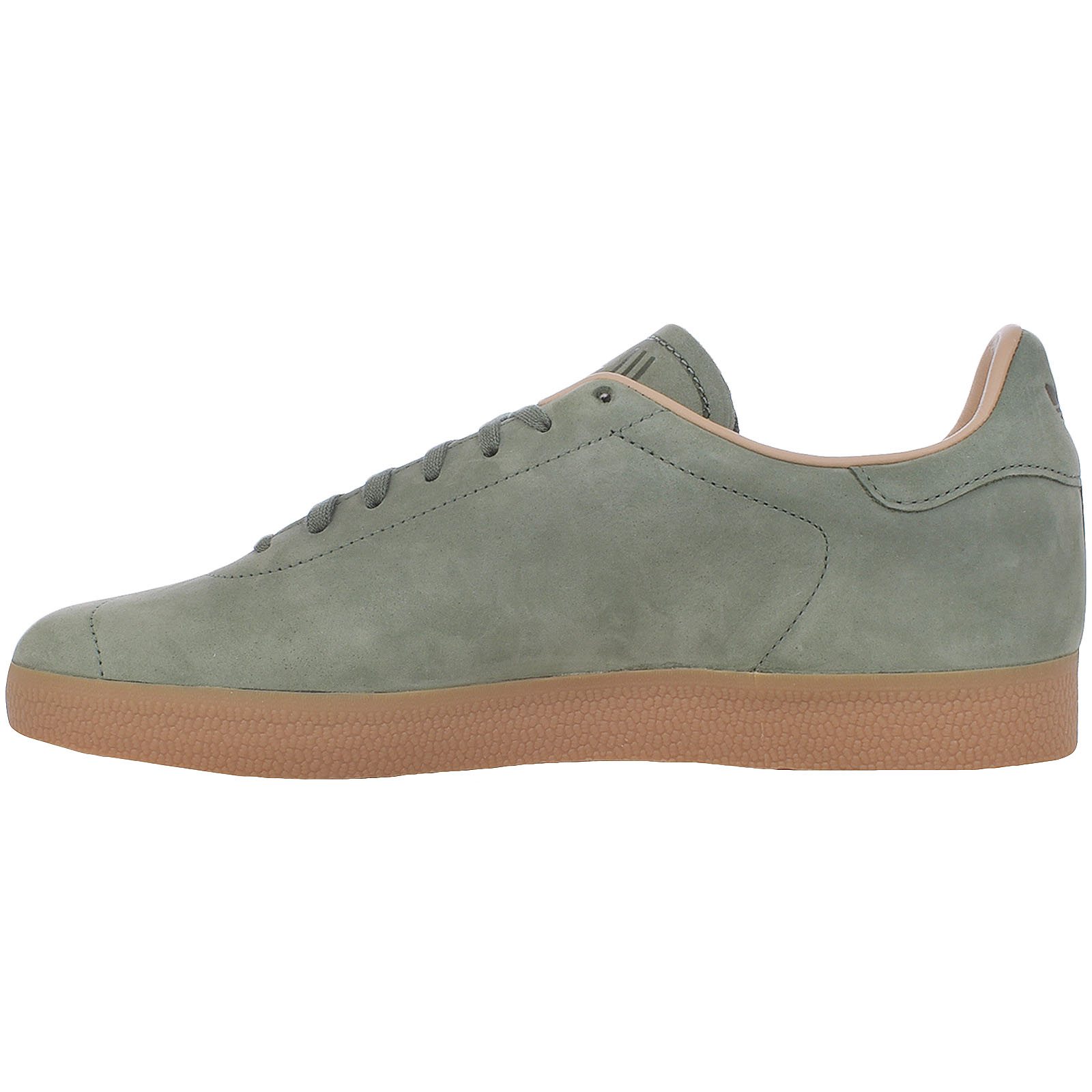 Details about adidas Orignals Mens Gazelle Decon Lace Up Casual Trainers Shoes Green Pink