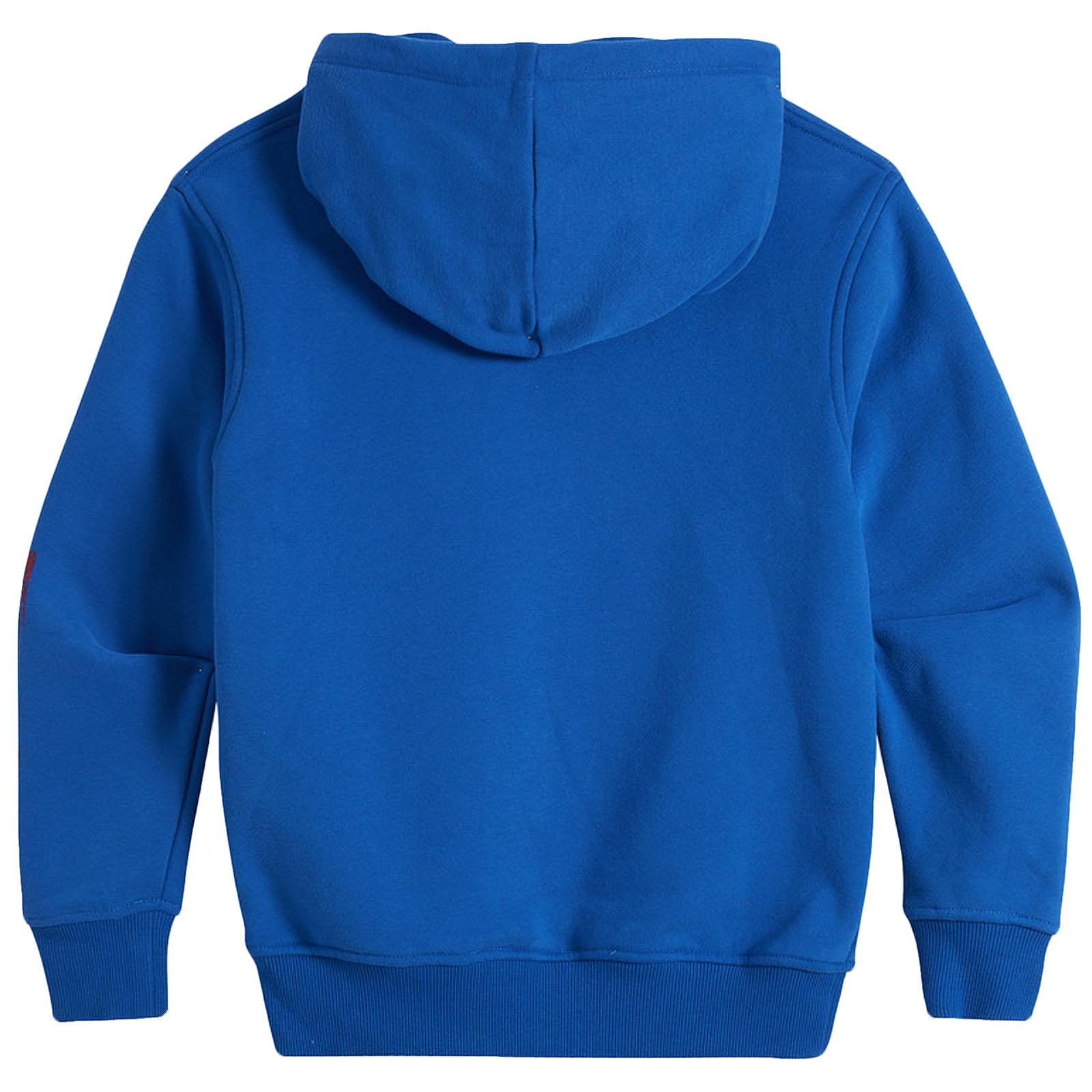 Animal-Boys-Kids-Roadie-Long-Sleeve-Hooded-Pullover-Sweatershirt-Jumper-Hoodie thumbnail 3