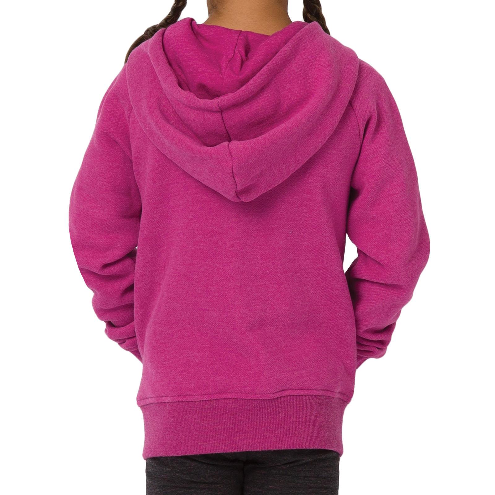 Animal Girls Kids College Long Sleeve Zipped Hooded Sweatshirt Hoodie Jacket Top
