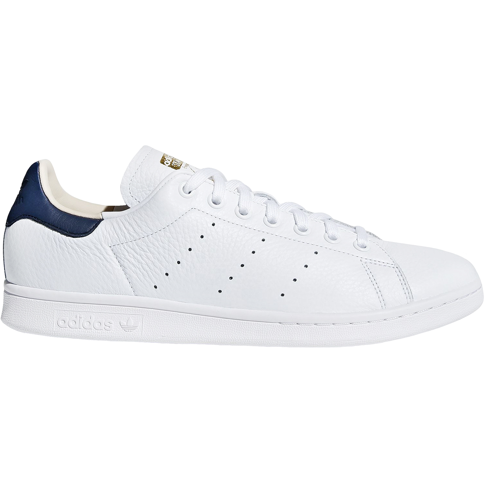 Details about adidas Originals Mens Stan Smith Low Rise Casual Lace Up Trainers WhiteNavy 4.5  großer Rabatt