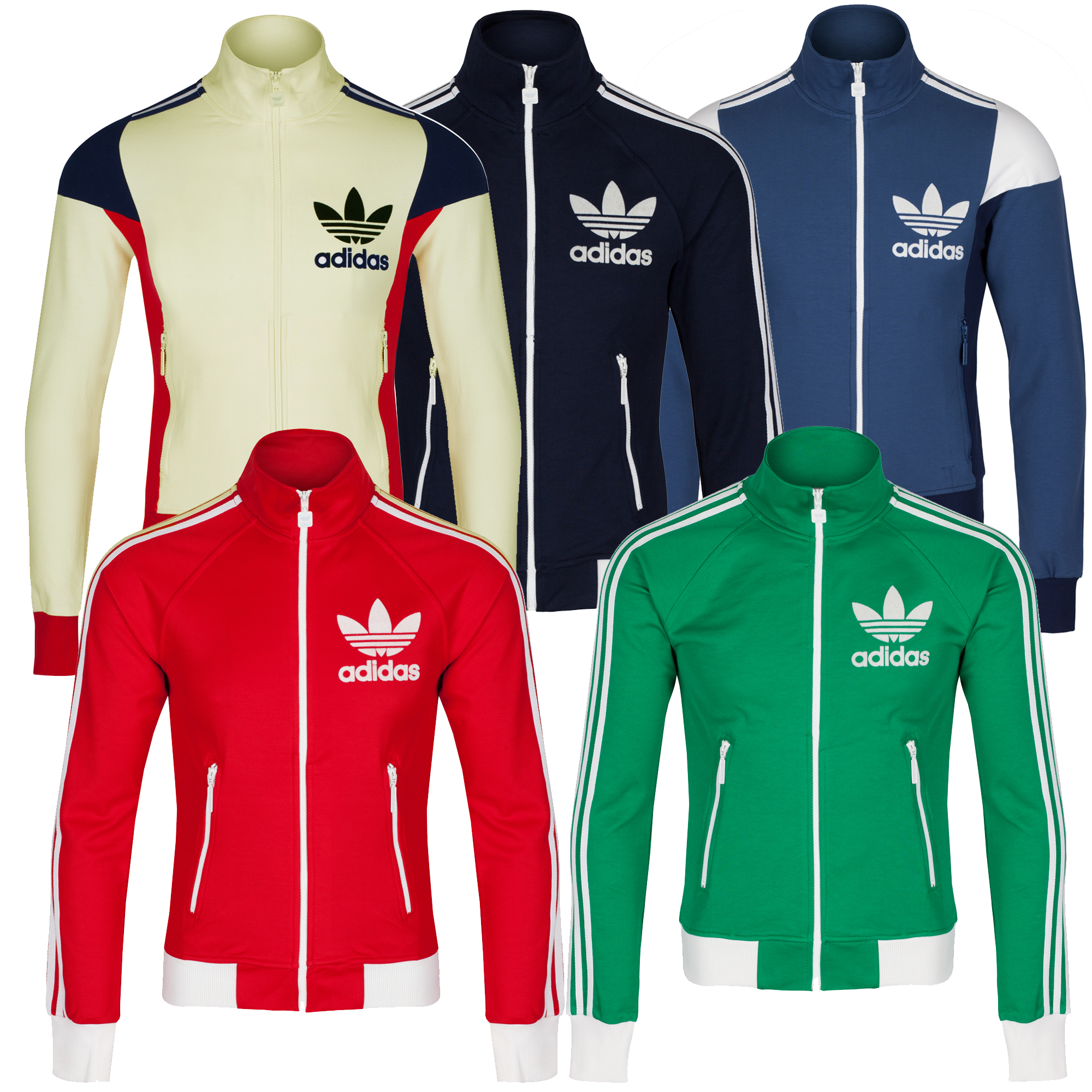 retro adidas tracksuit top