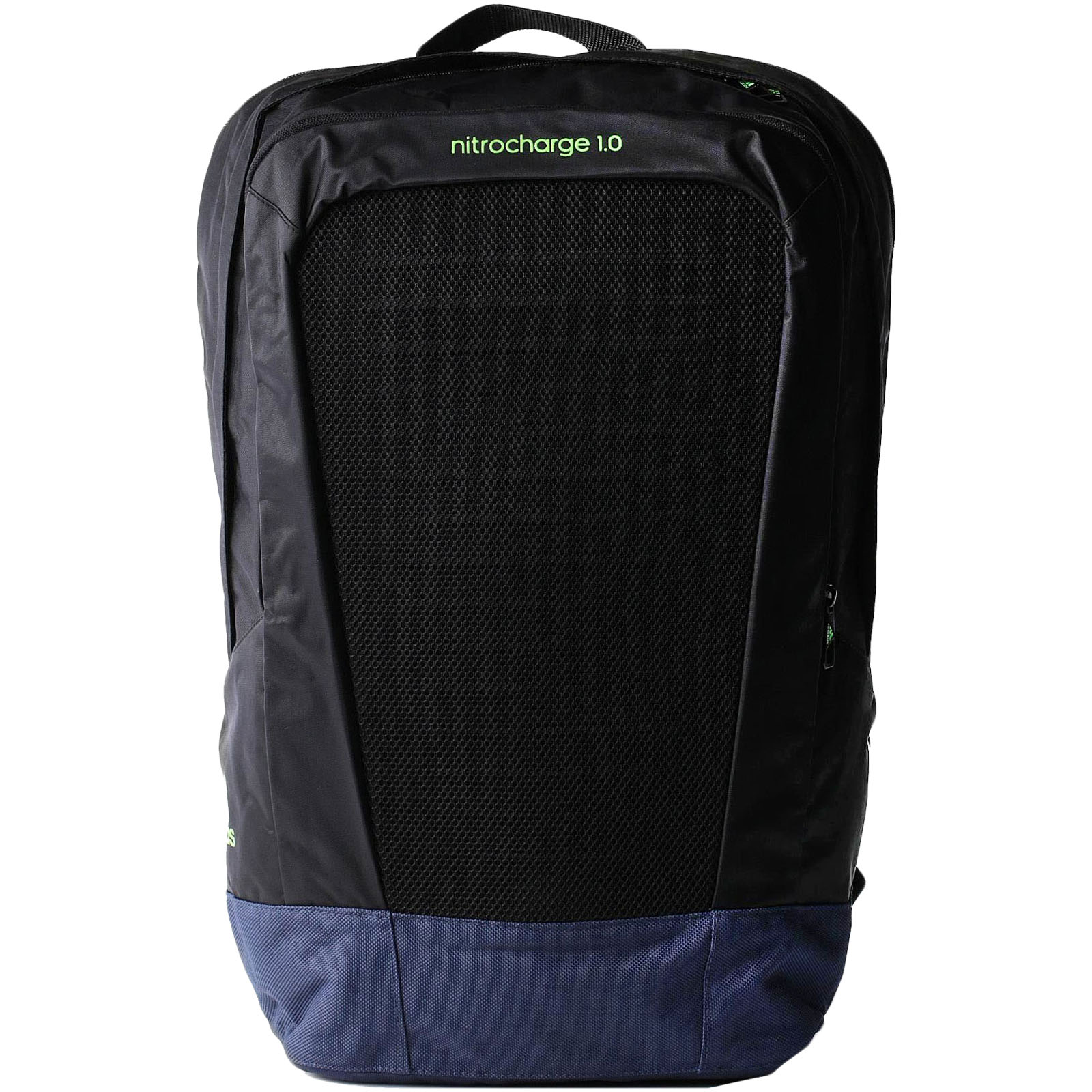 897e11bec6da Details about adidas Performance Mens Nitrocharge 1.0 Two Strap Backpack  Rucksack Bag - Black