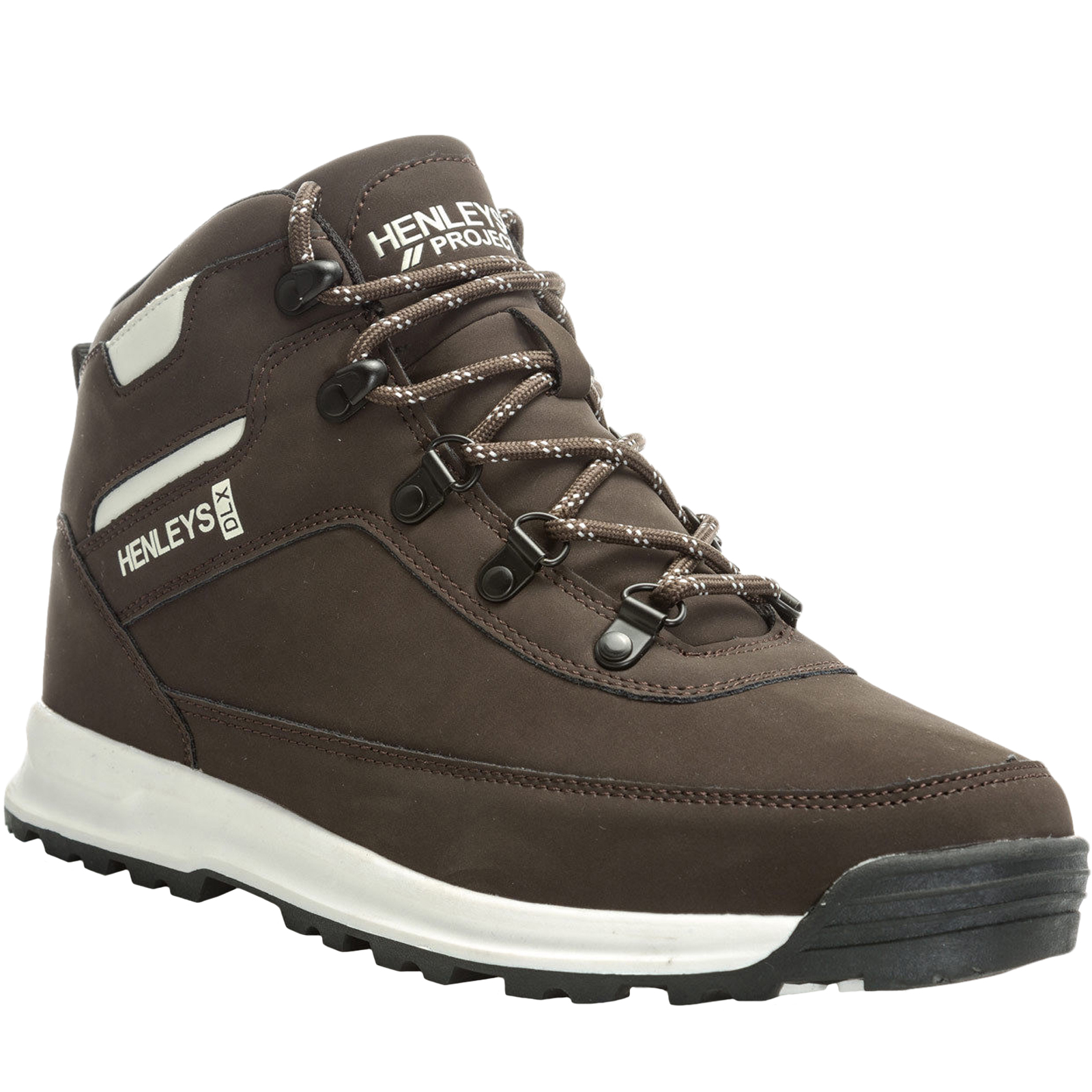 Henleys-Mens-Travis-Lace-Up-Casual-High-Top-Outdoor-Hiking-Walking-Boots-Shoes thumbnail 8