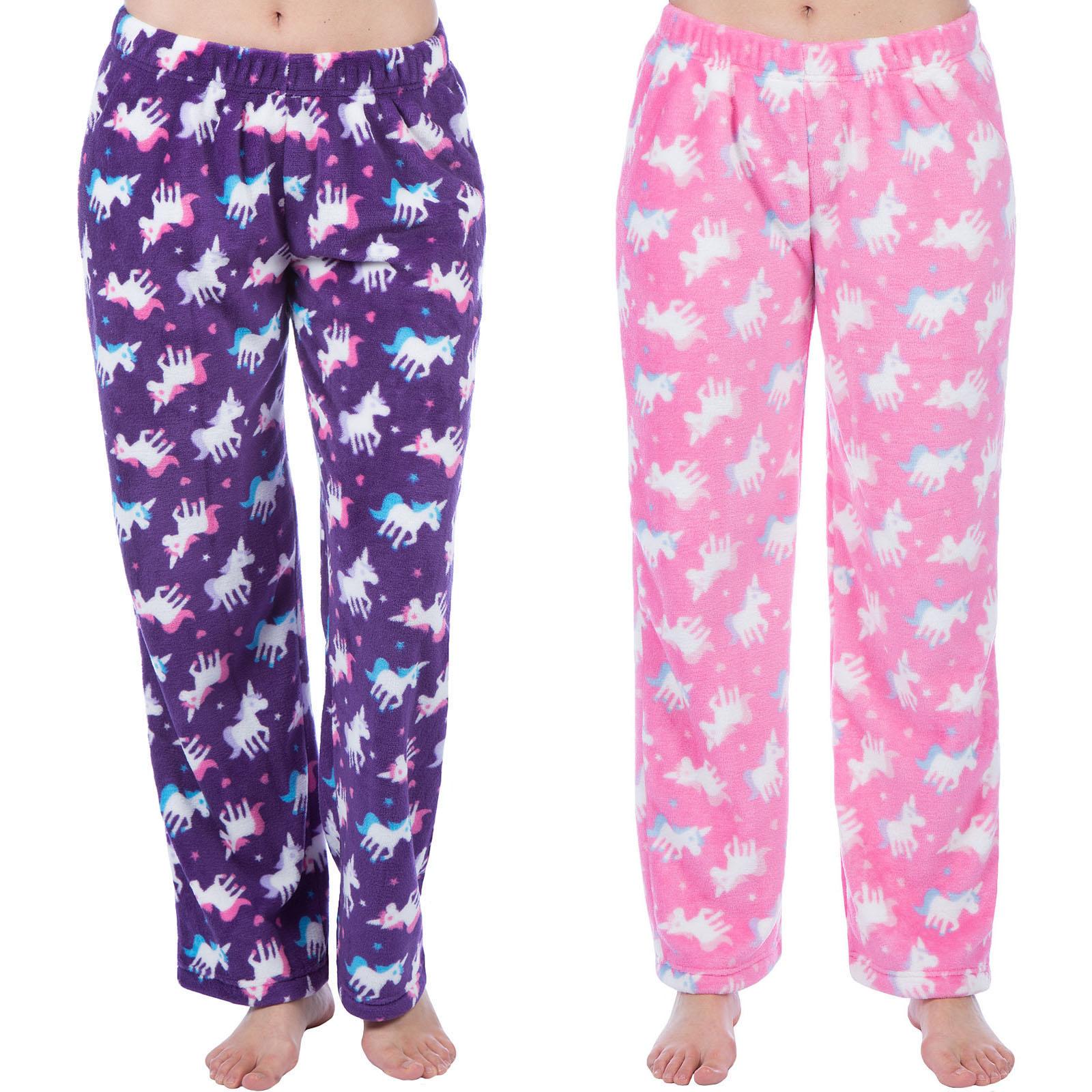 Selena Girl Kids Unicorn Pyjama Bottoms