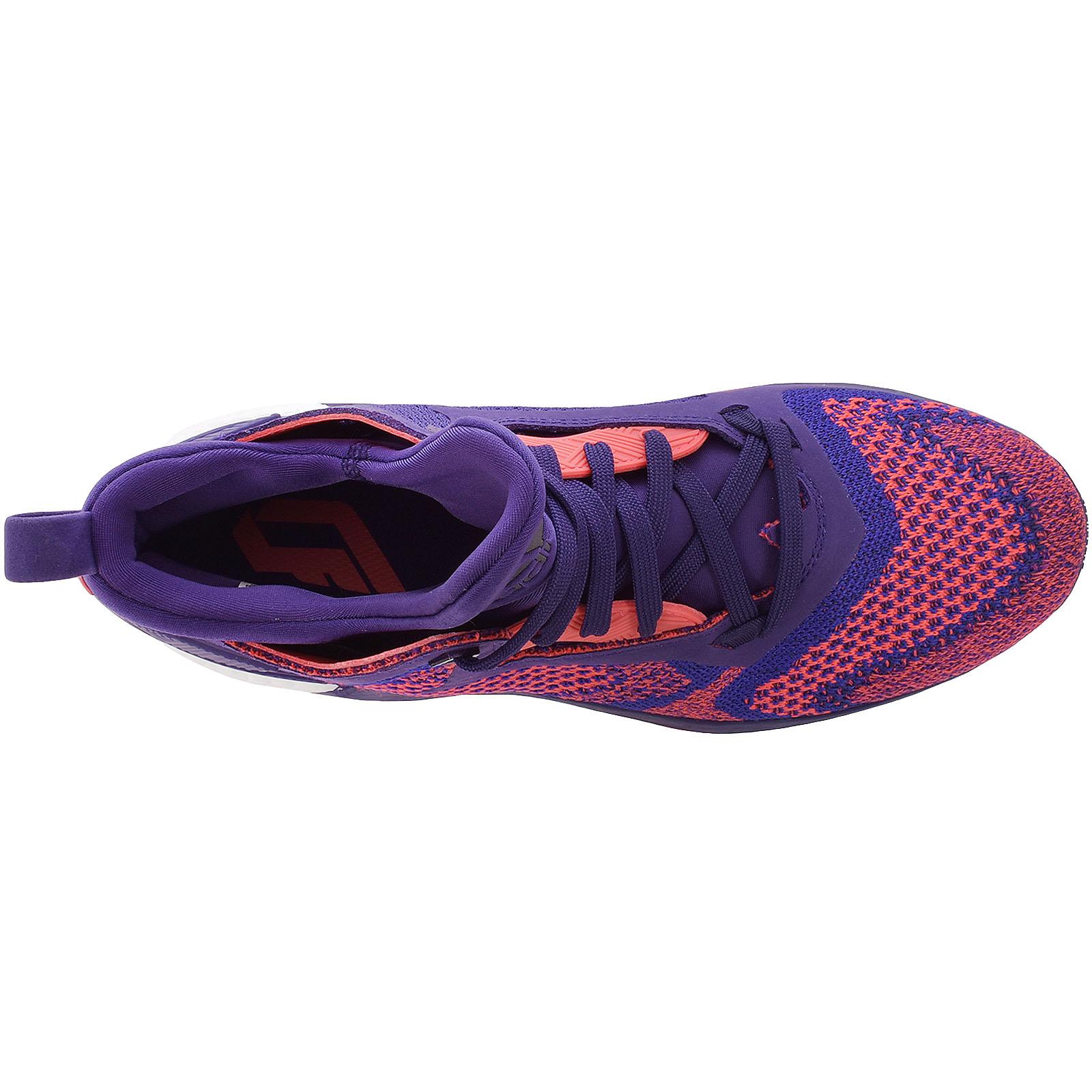 Details about adidas Performance D Lillard 2 Boost Primeknit Basketball Trainers Shoes Purple
