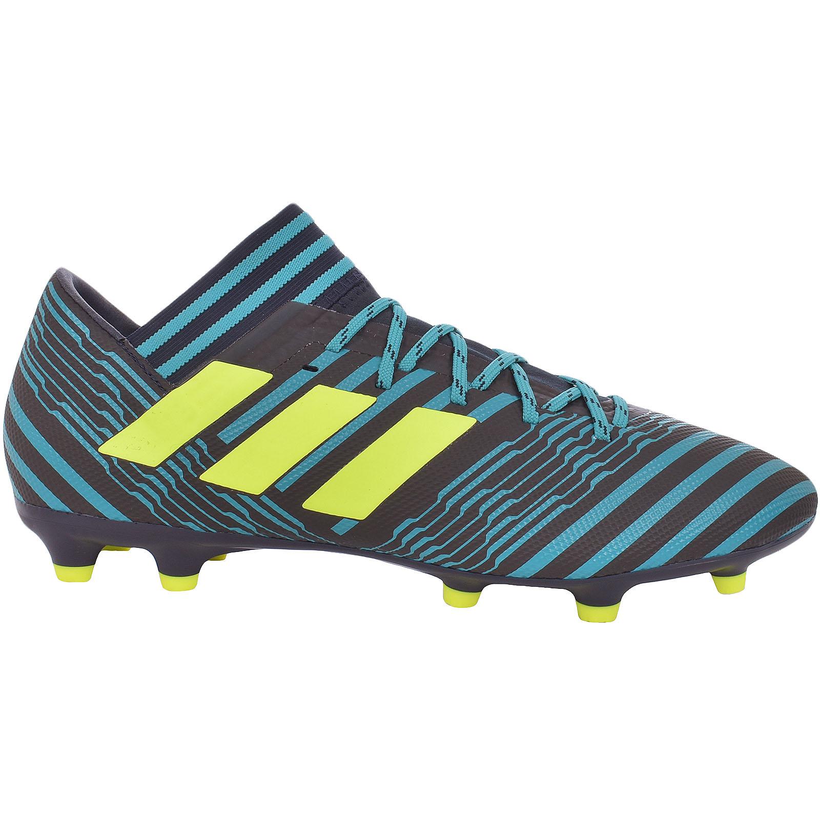 7371ff788bbf adidas Mens Nemeziz 17.3 FG Football BOOTS Shoes Footwear Sports ...