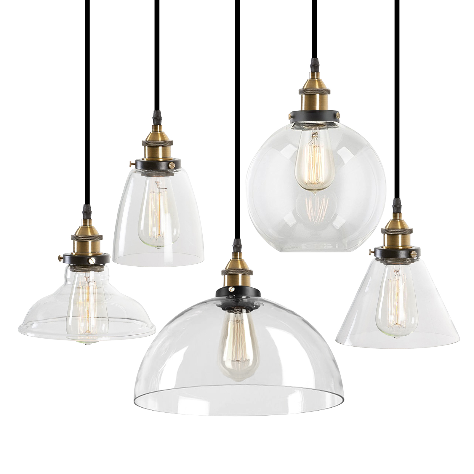 Pendant lighting glass shade modern industrial ceiling light lamp pendant lighting glass shade modern industrial ceiling light mozeypictures Image collections