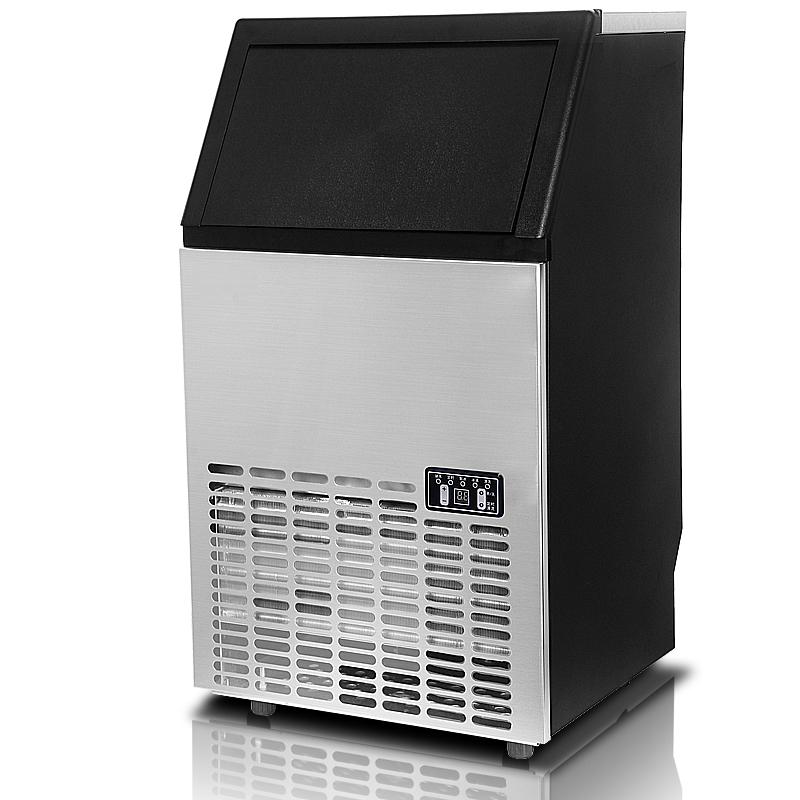 ice cube maker commercial ice maker portable machine cafe bar home 45 60kg day ebay. Black Bedroom Furniture Sets. Home Design Ideas