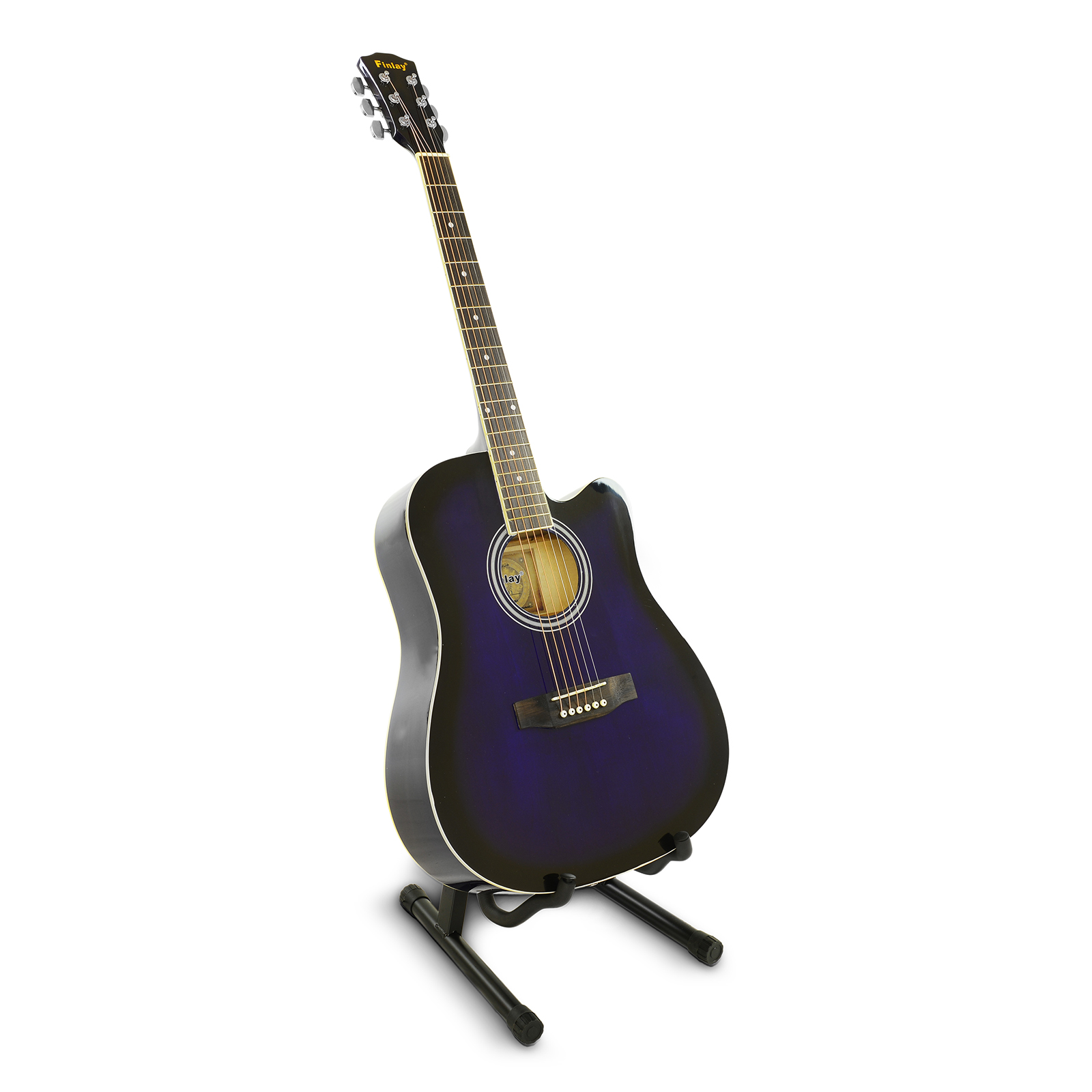 41-034-Inch-Wooden-Guitar-Set-Folk-Acoustic-Classical-Cutaway-Steel-String-Bag